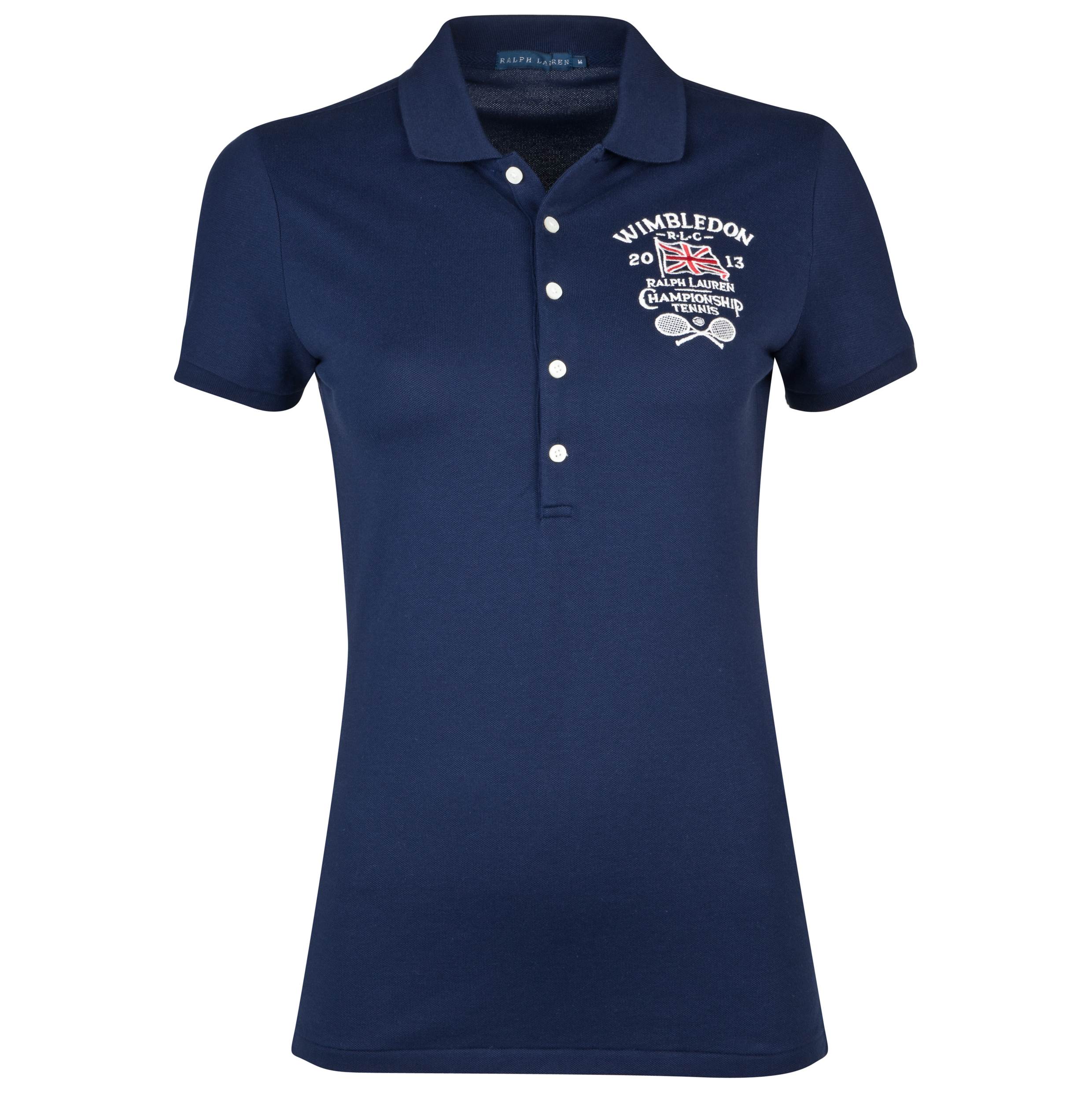 Polo Ralph Lauren Wimbledon Brit Polo - French Navy - Womens