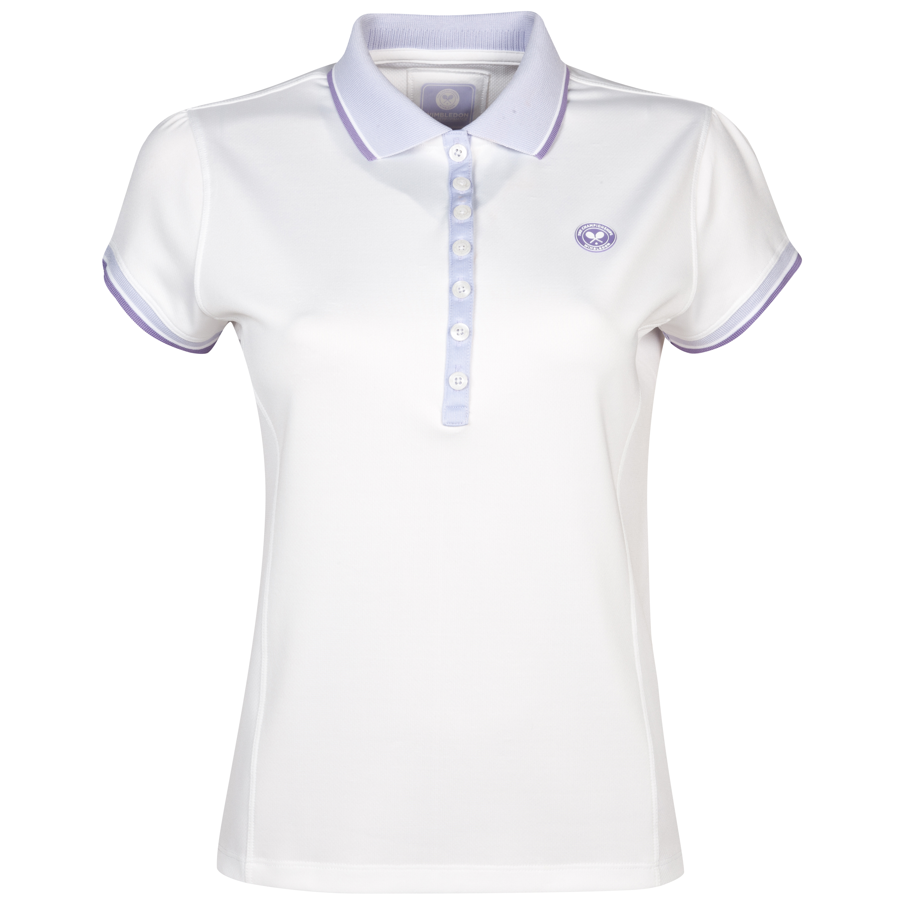 Wimbledon Player Polo Shirt - Ladies - White