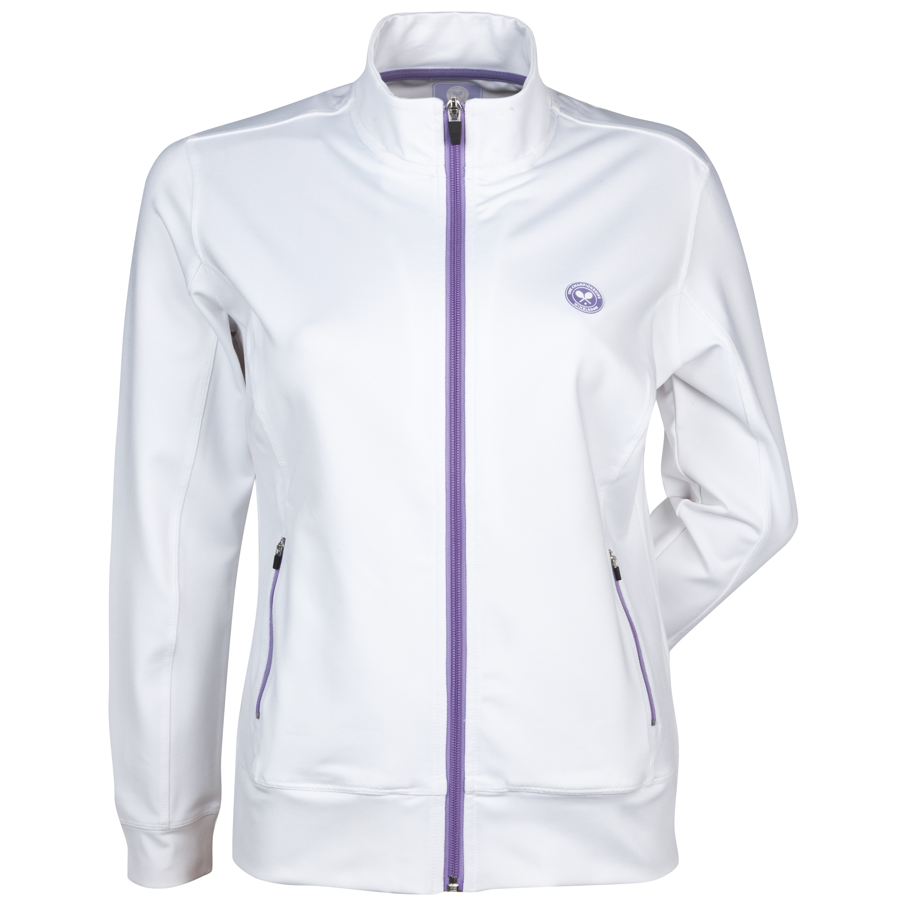 Wimbledon Track Top - Ladies - White