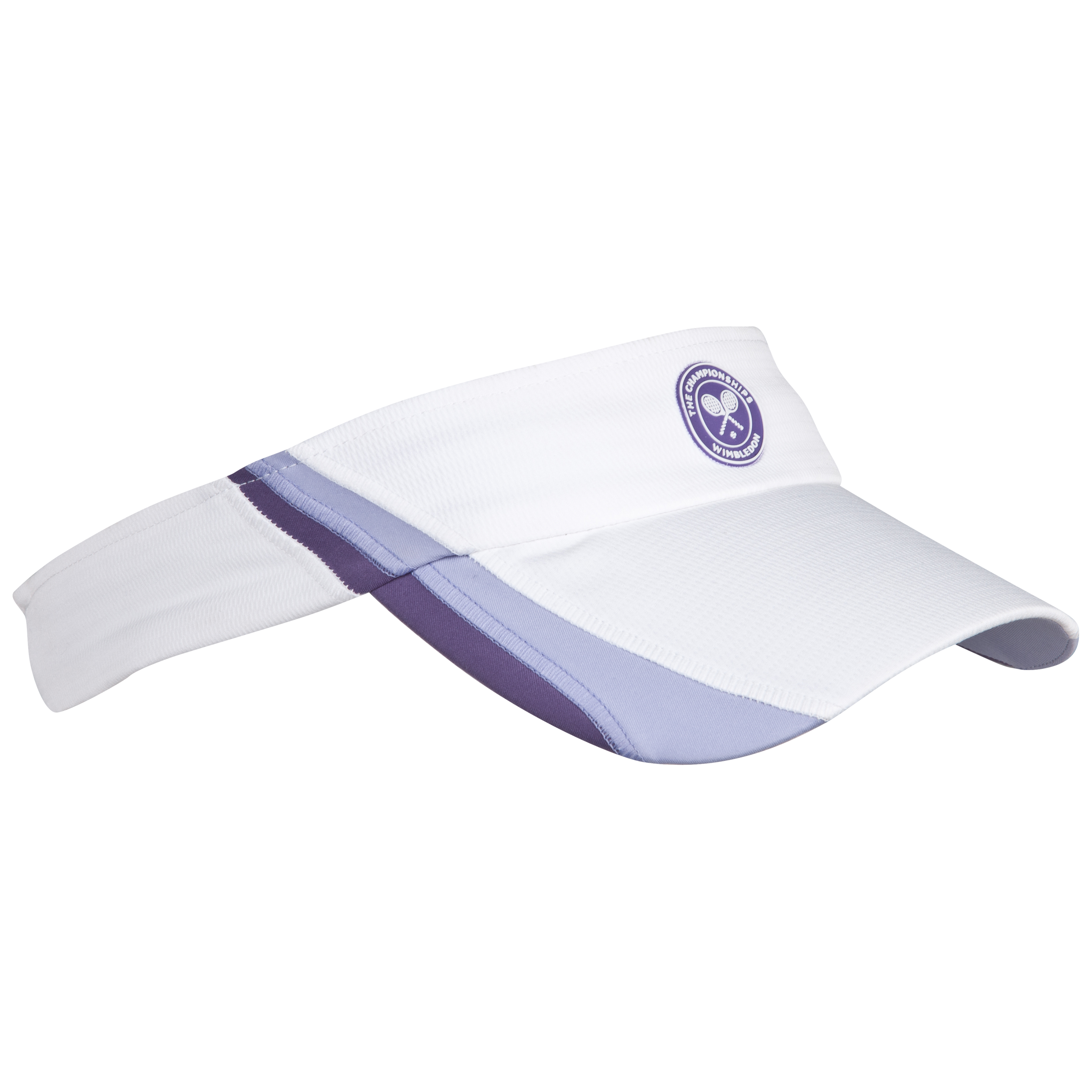 Wimbledon Player Visor - Ladies - White