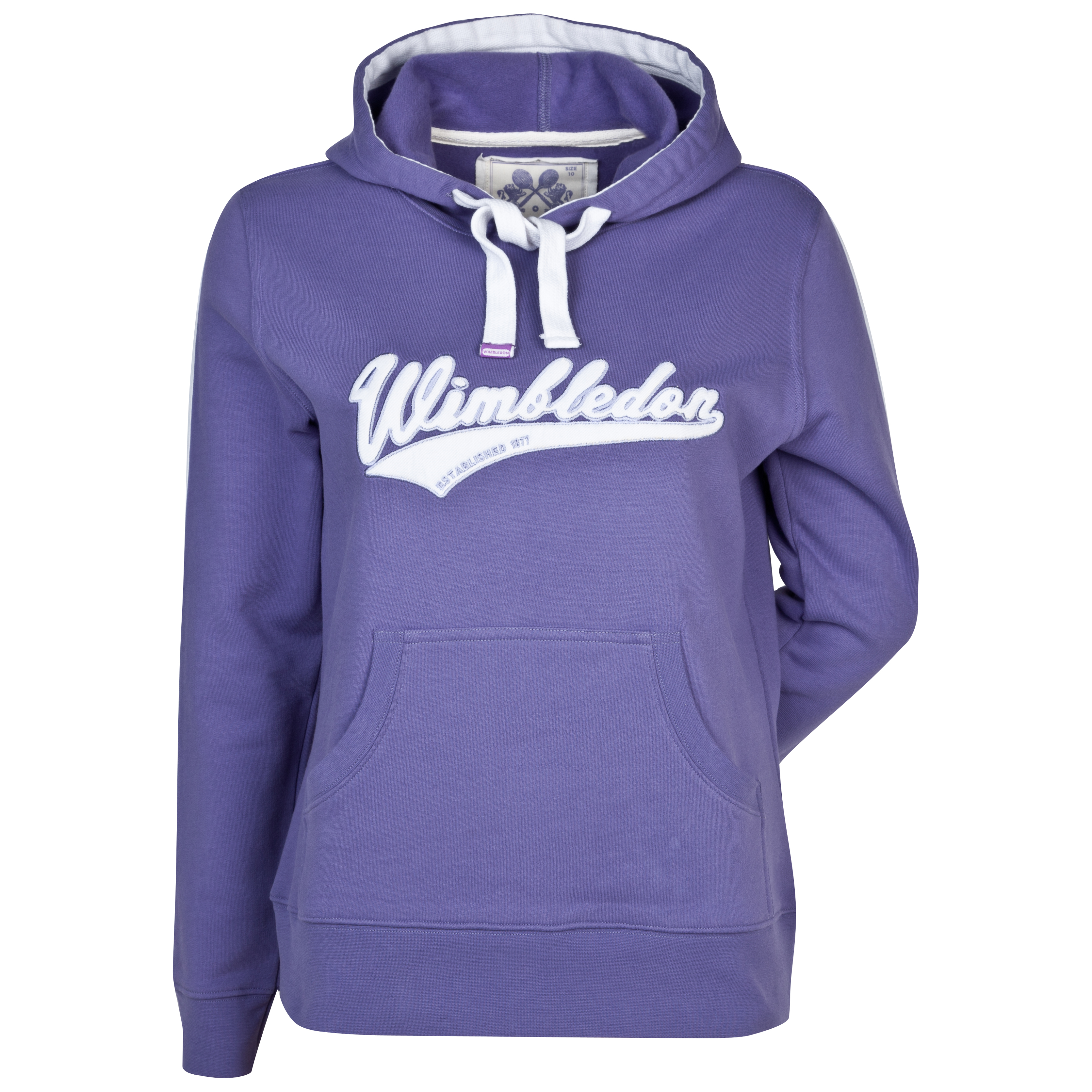 Wimbledon Hooded Sweatshirt - Ladies - Dark lilac