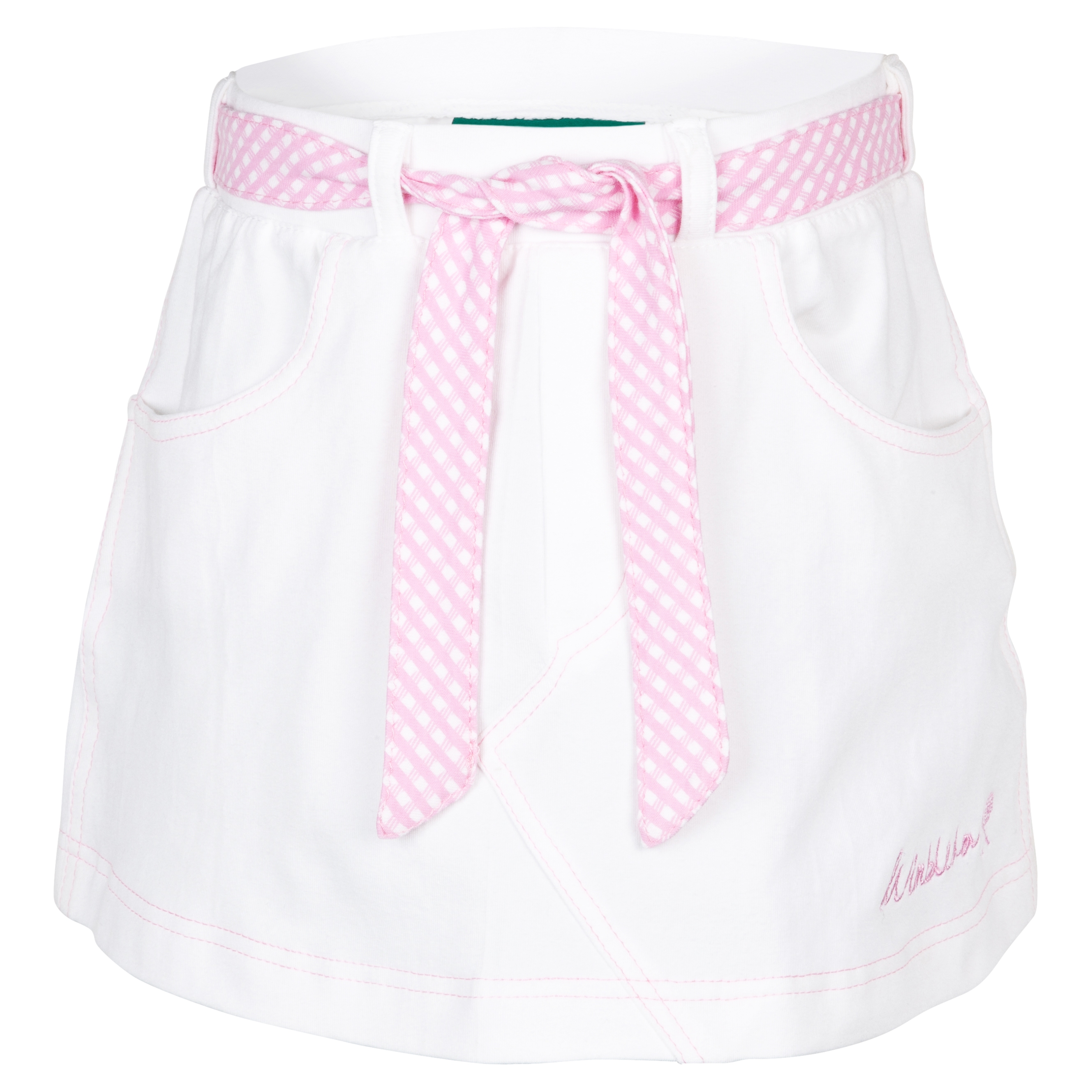 Wimbledon Tennis Skirt - Girls - White