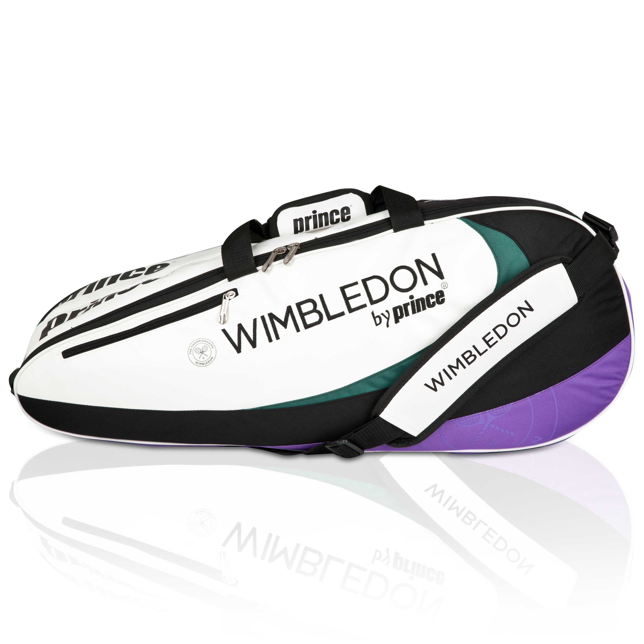Wimbledon By Prince Top Seed Collection 6 Pack Racket Bag