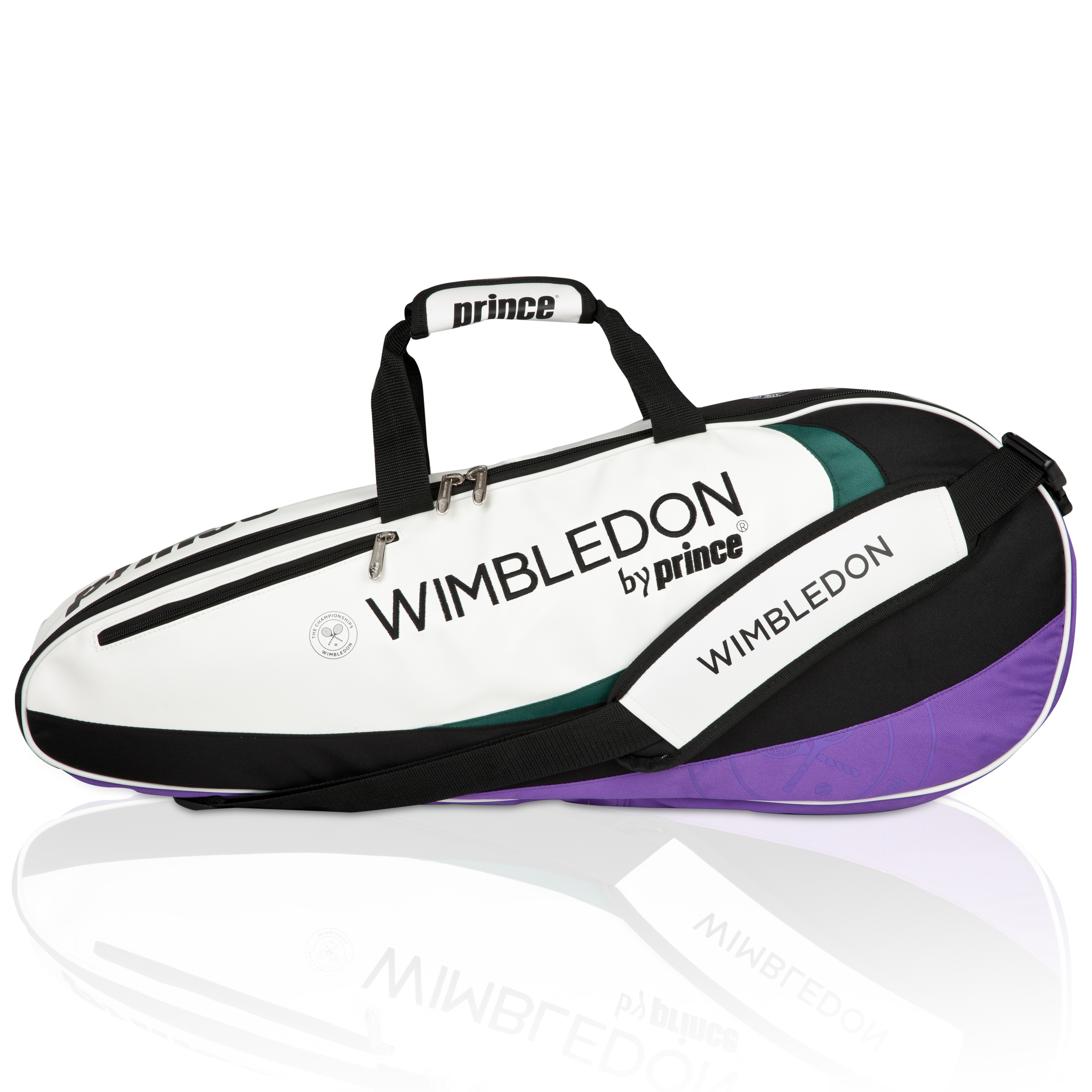 Wimbledon By Prince Top Seed Collection 3 Pack Racket Bag