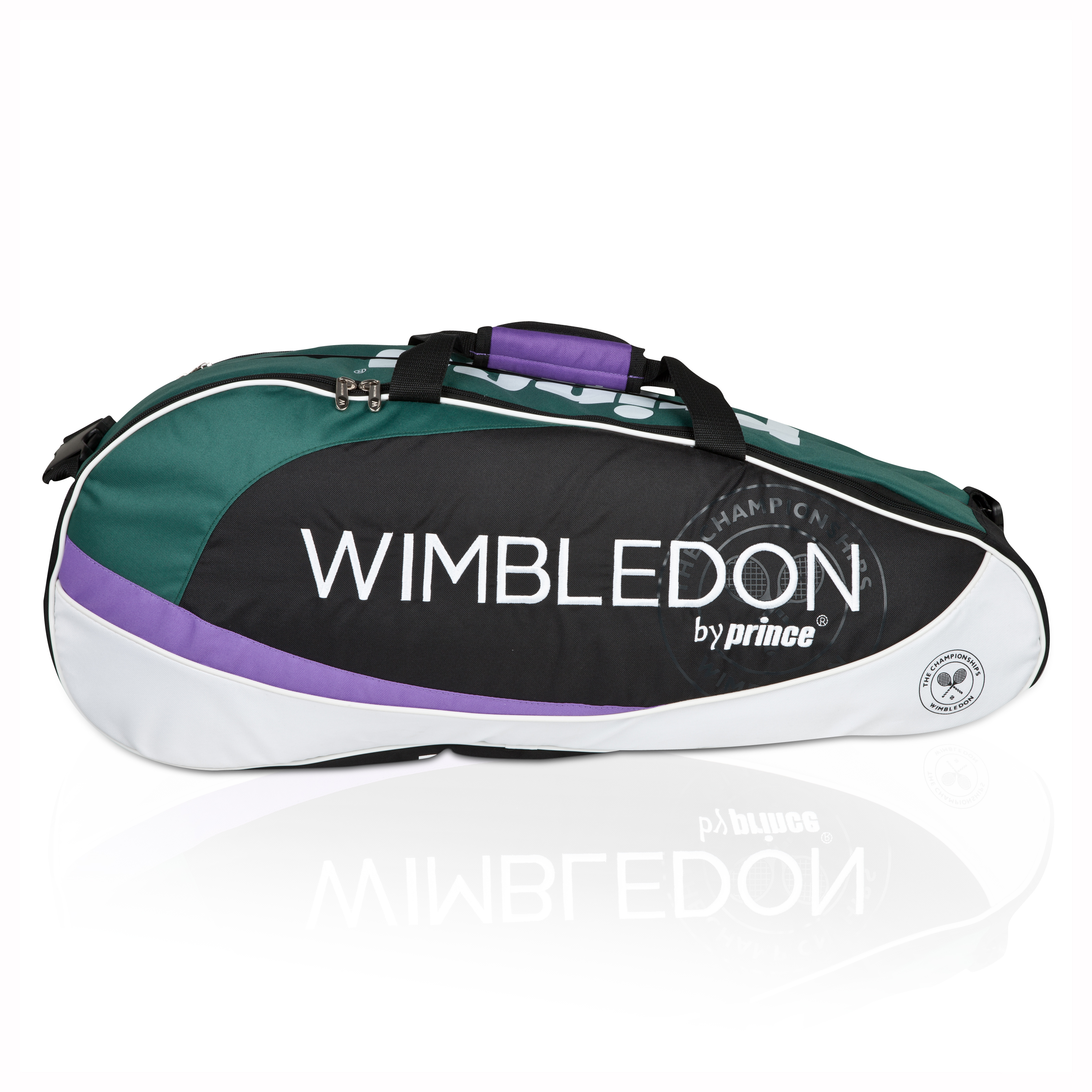Wimbledon By Prince Grass Court Collection 6 Pack Racket Bag