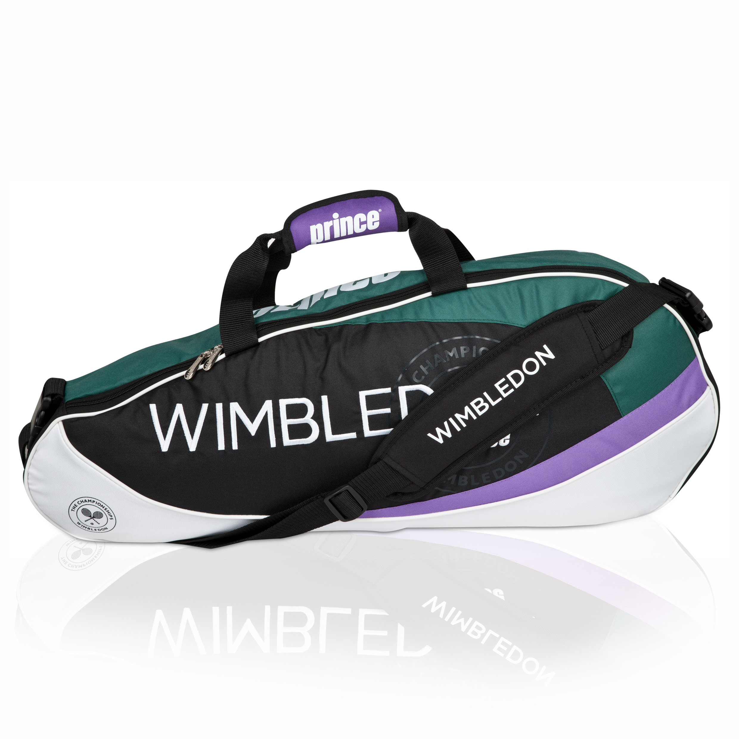 Wimbledon By Prince Grass Court Collection 3 Pack Racket Bag