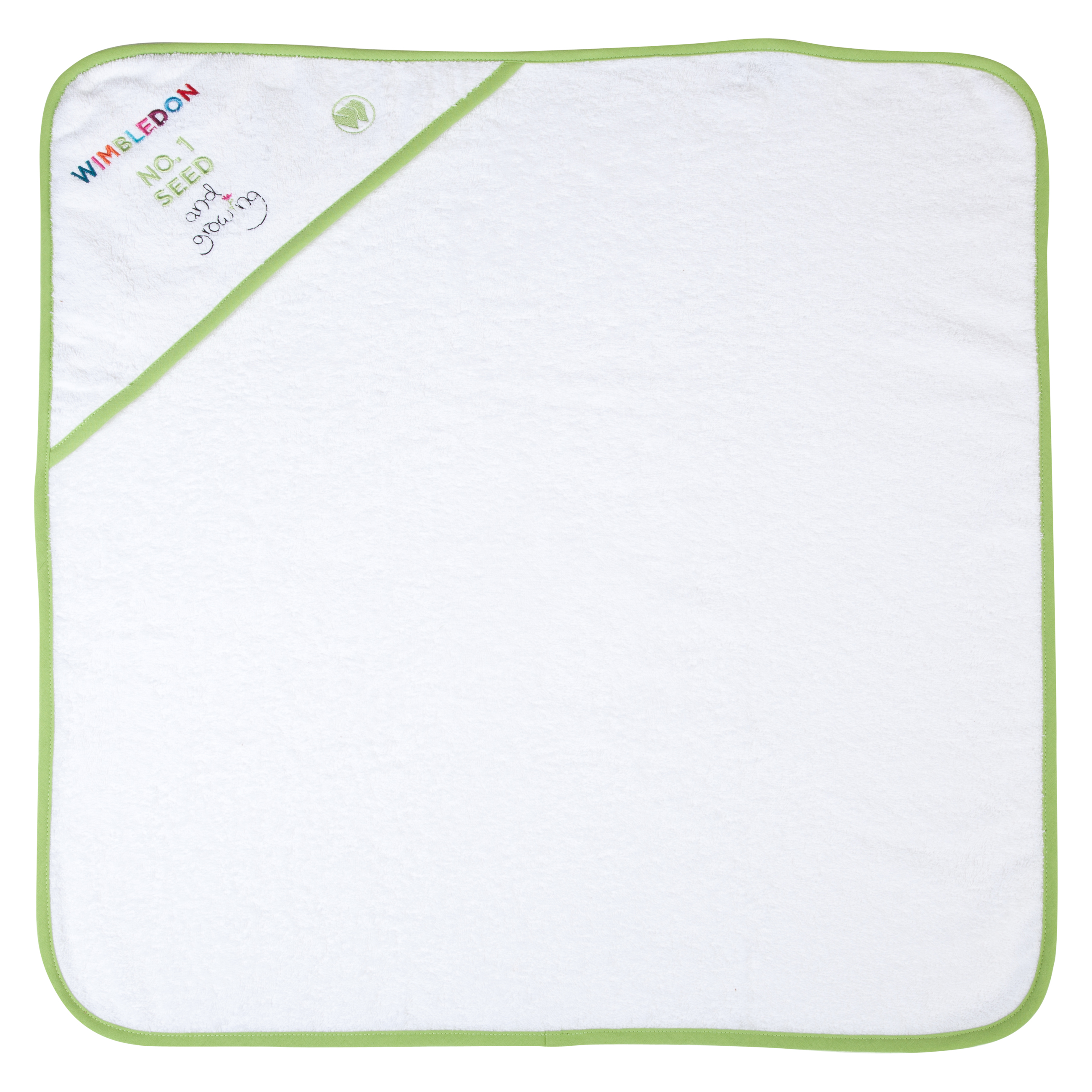 Wimbledon Kids Cuddle Robe White
