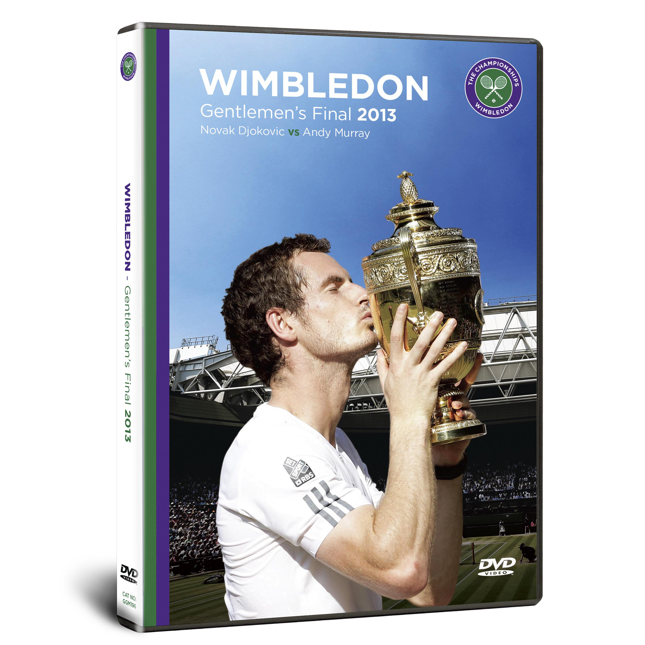 Wimbledon The 2013 Mens Final: Murray vs Djokovic DVD - PAL