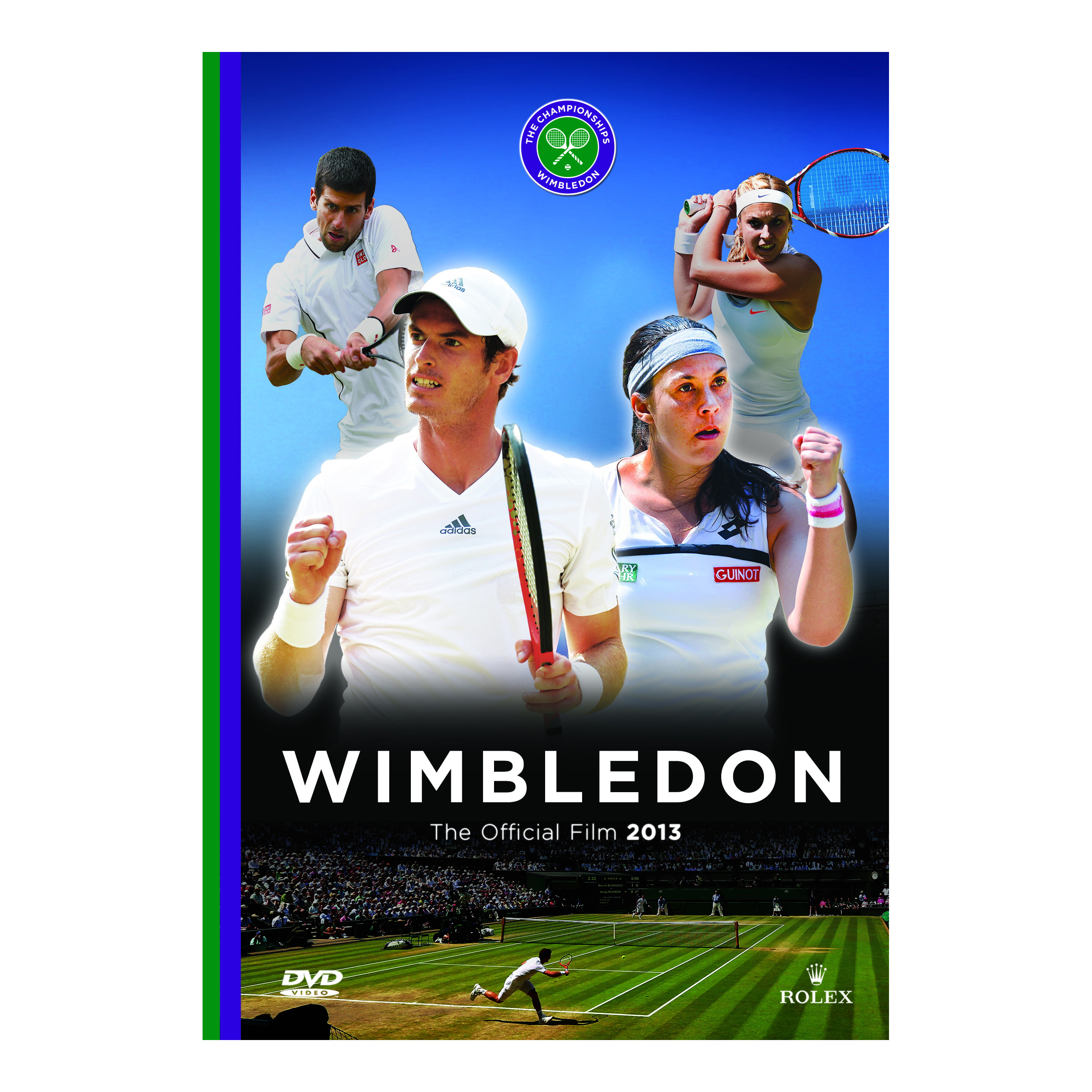 Wimbledon 2013 Official Film DVD - PAL