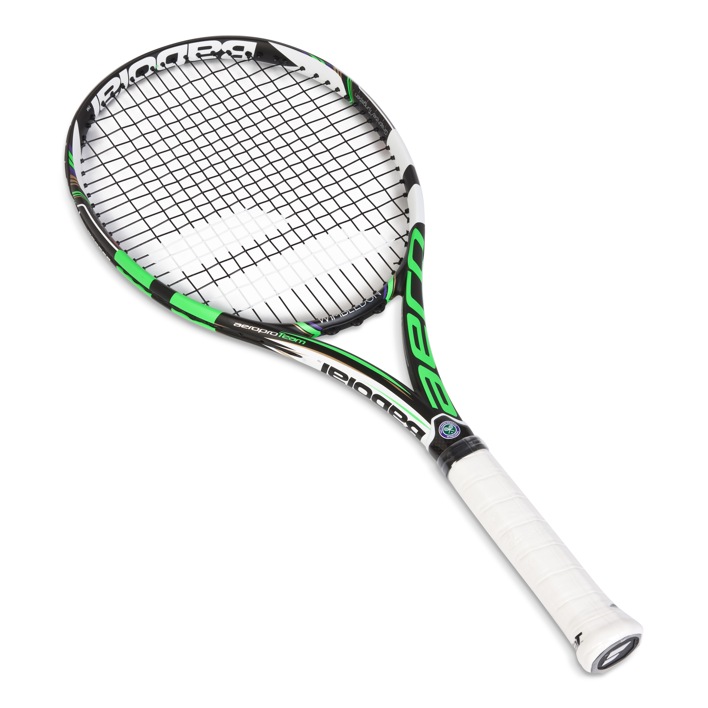 Wimbledon Aeropro Team GT Racket Black