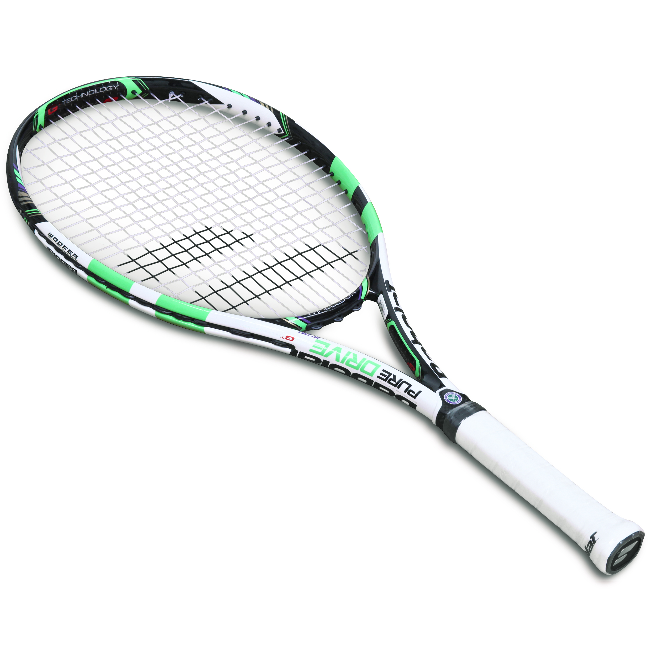 Wimbledon Pure Drive Junior 26 Racket Green