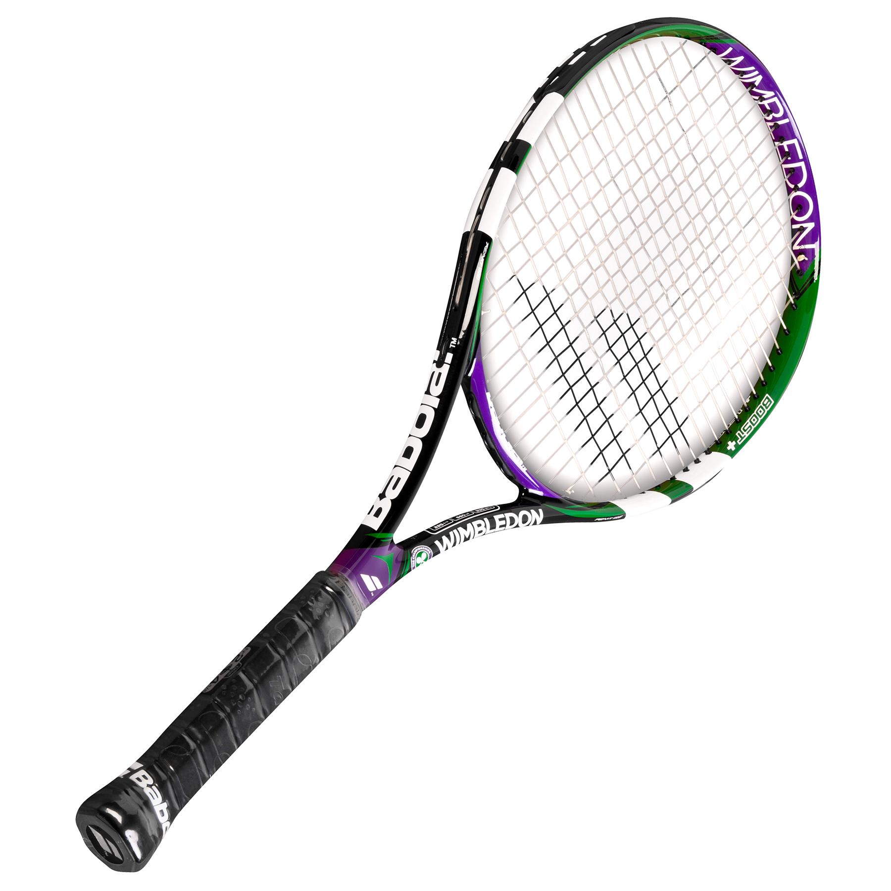Wimbledon Reakt Tour Racket Black