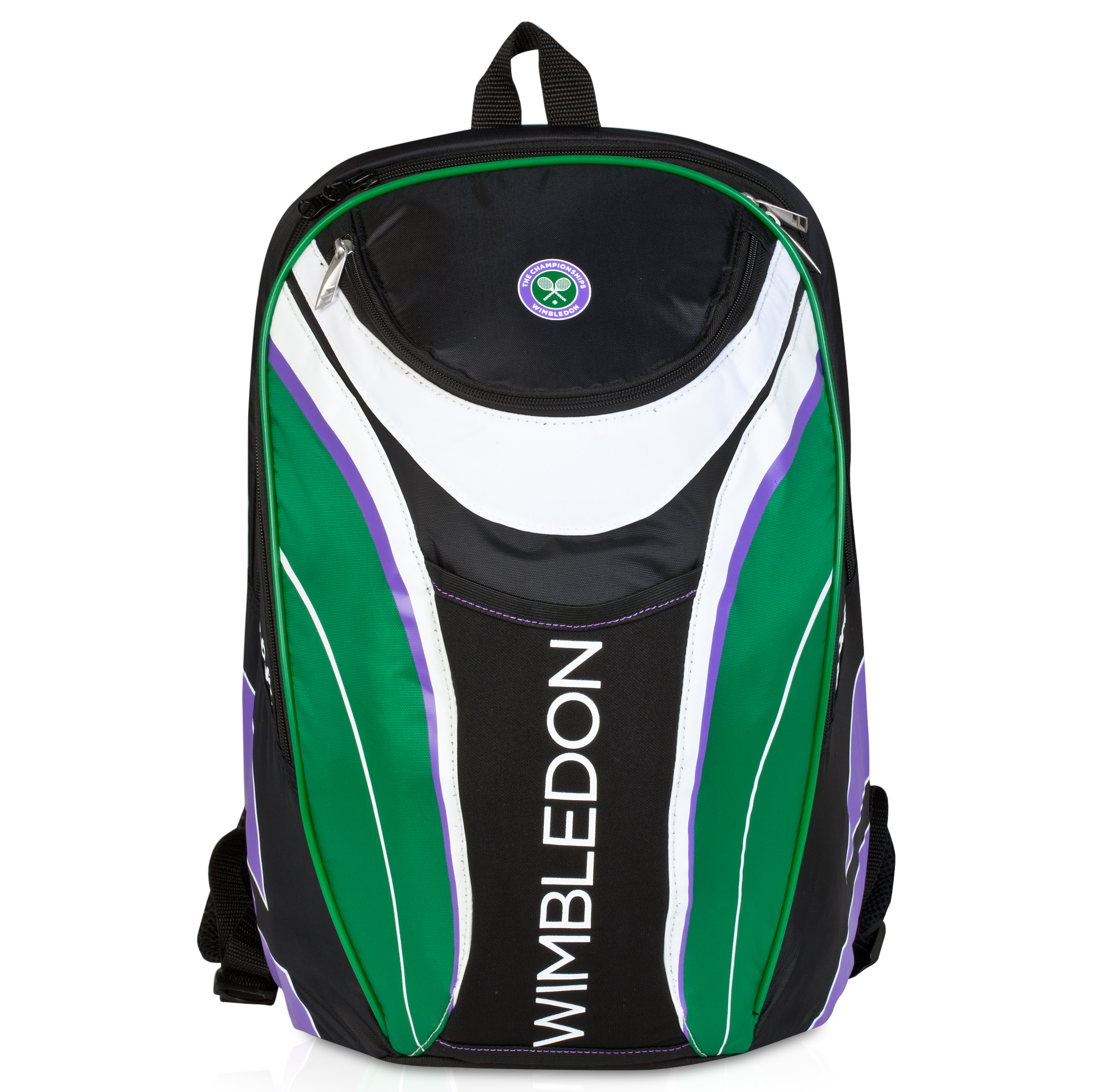 Wimbledon Club Backpack - White/Green White