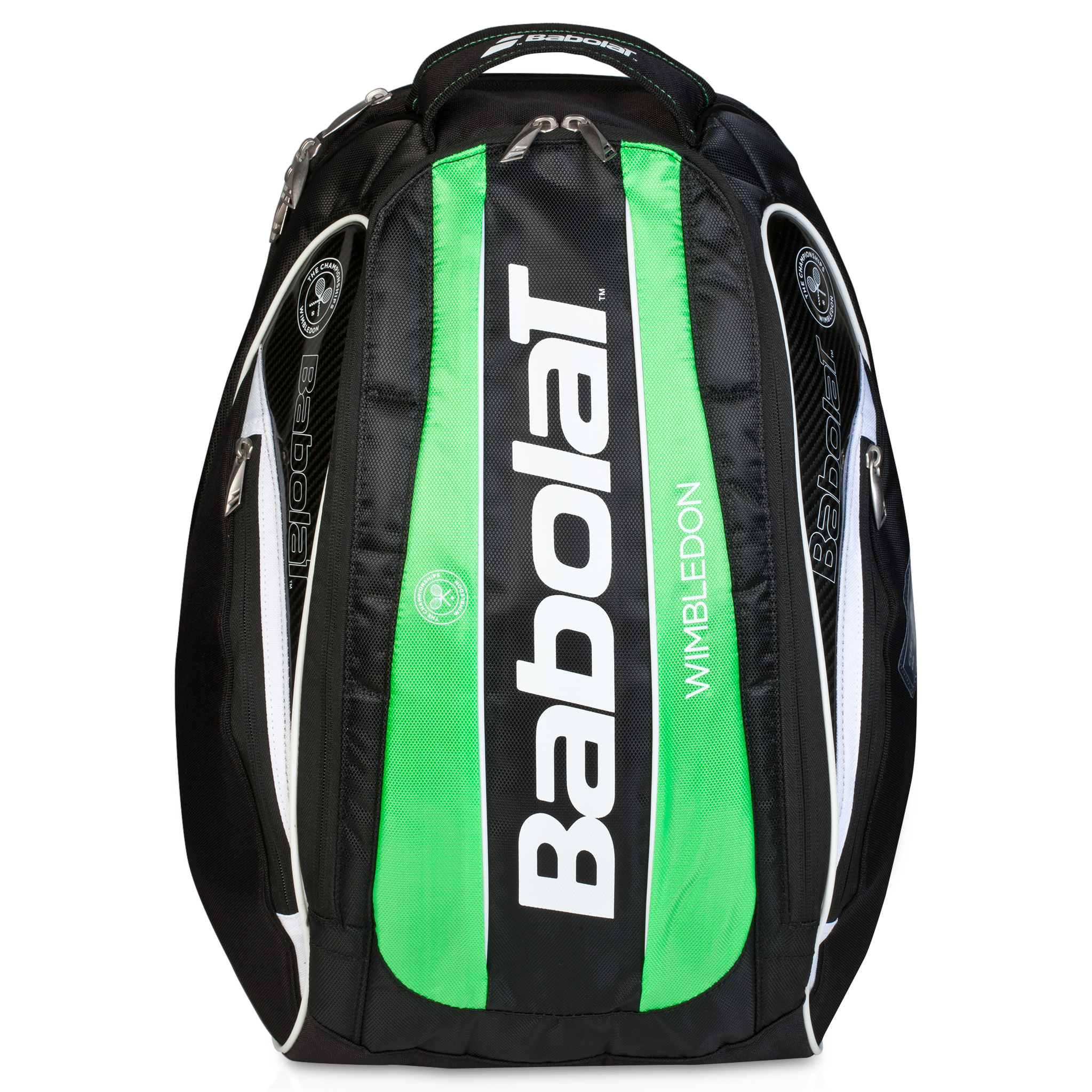 Wimbledon Team Backpack - Black/Green Black