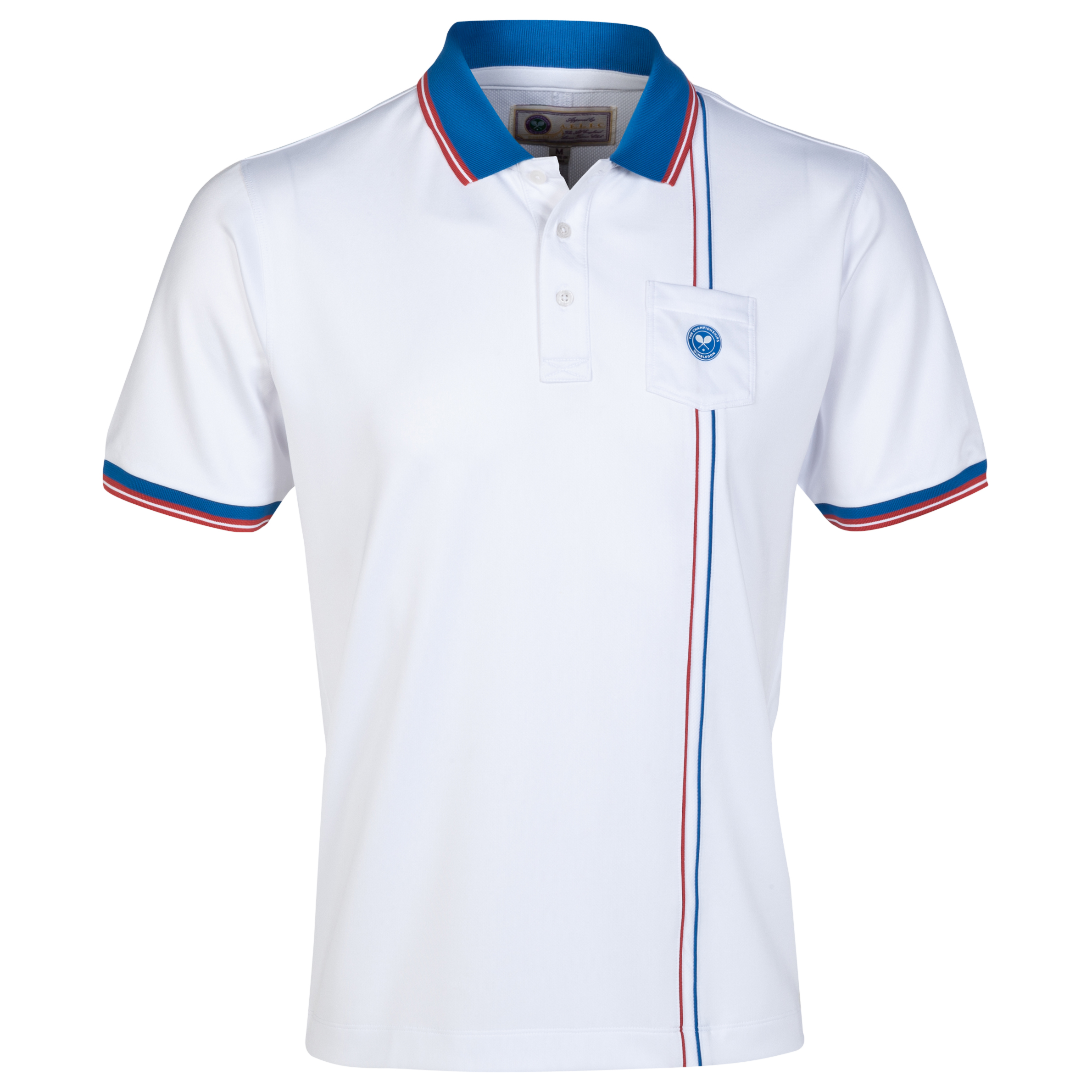 Wimbledon Player Polo Shirt White