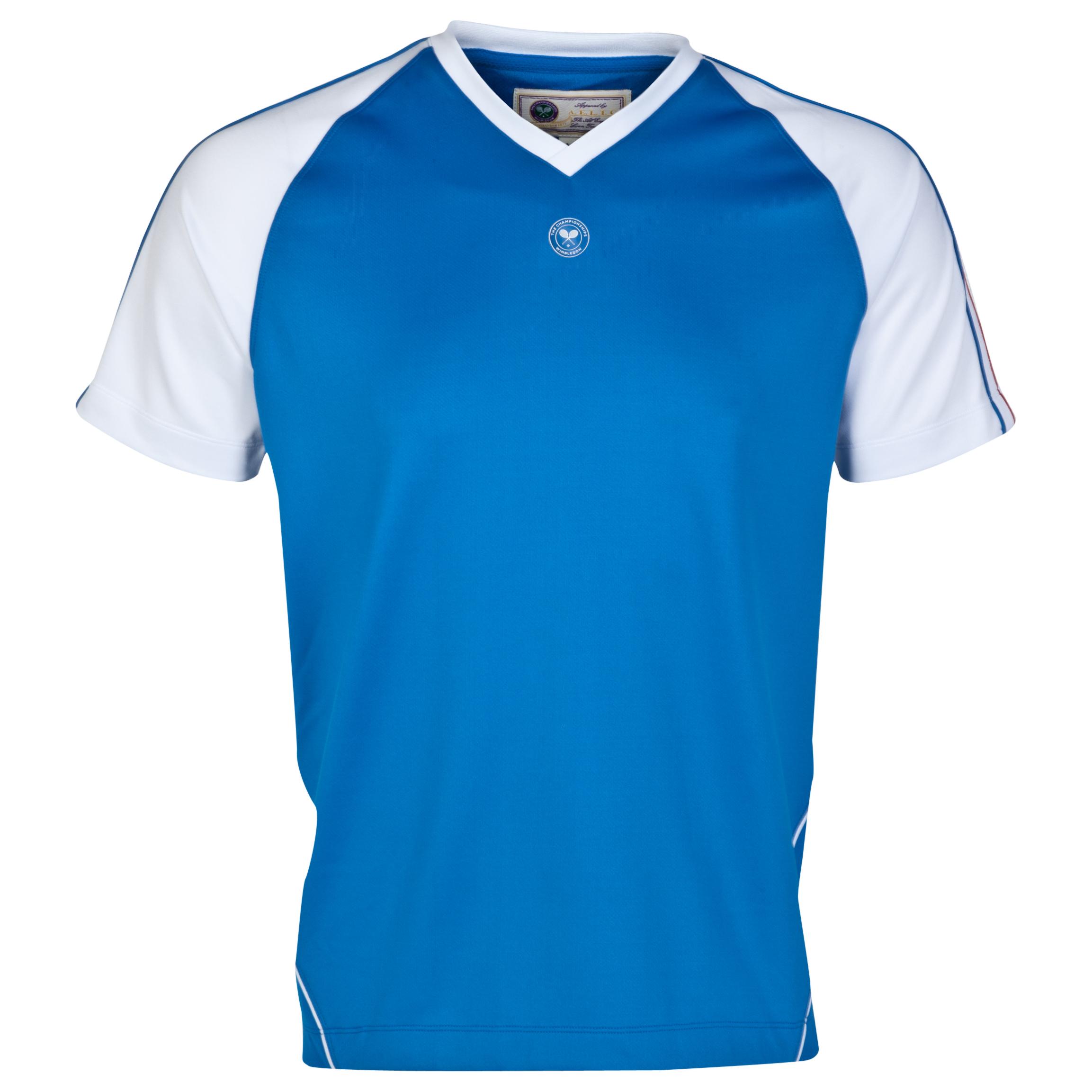 Wimbledon Player T- Shirt Blue