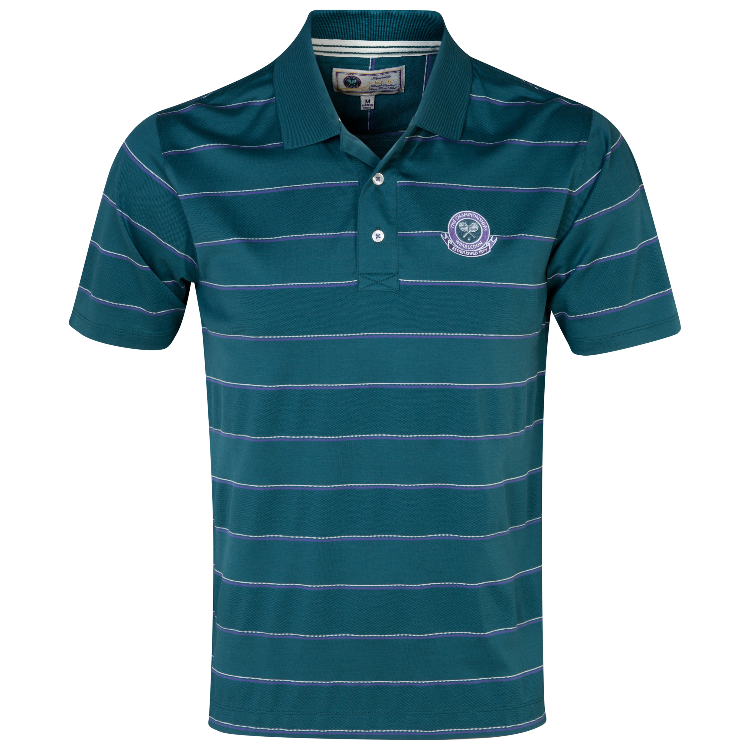 Wimbledon Mercerised Polo Shirt Green