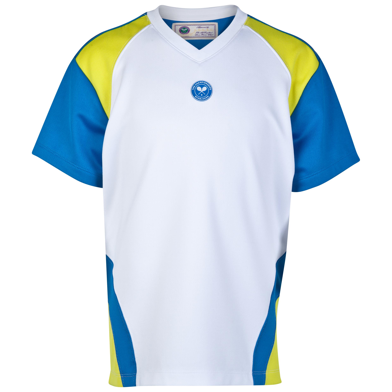 Wimbledon Player T-Shirt - Boys White