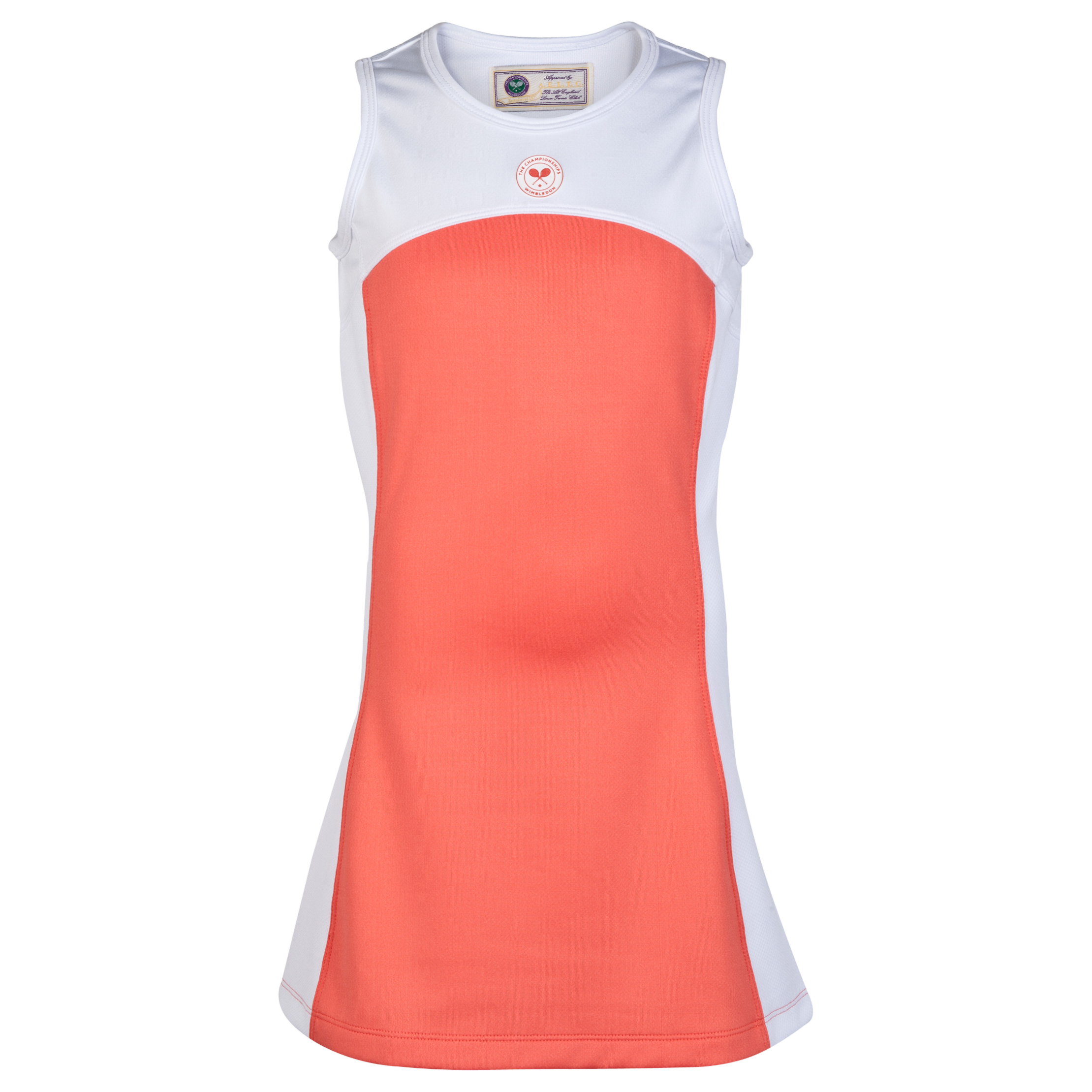 Wimbledon Sleeveless Tennis Dress - Girls