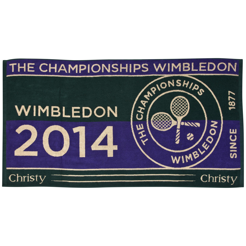 Wimbledon Mens Championship Towel 2014 Green