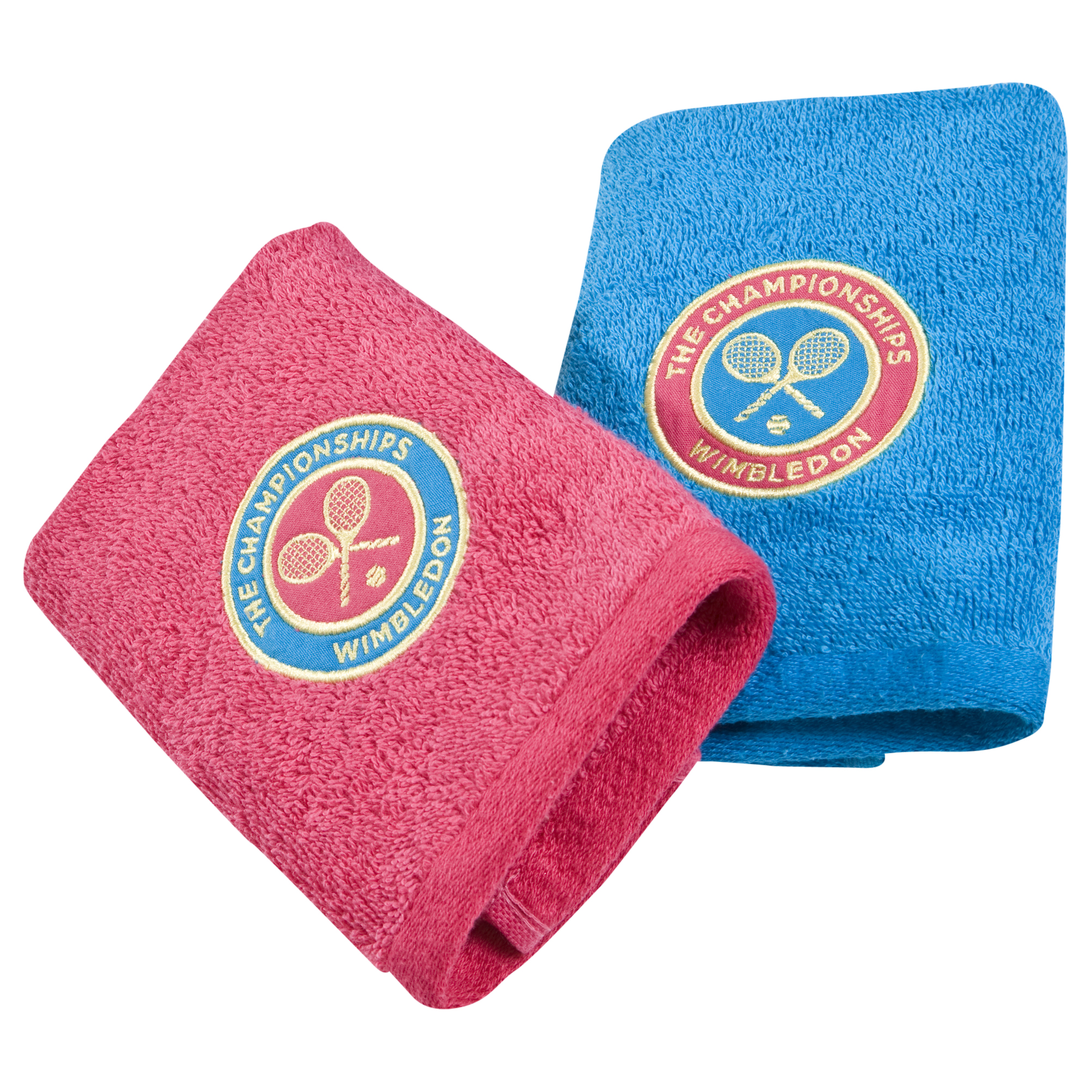Wimbledon Ladies Face Cloth Double Pack