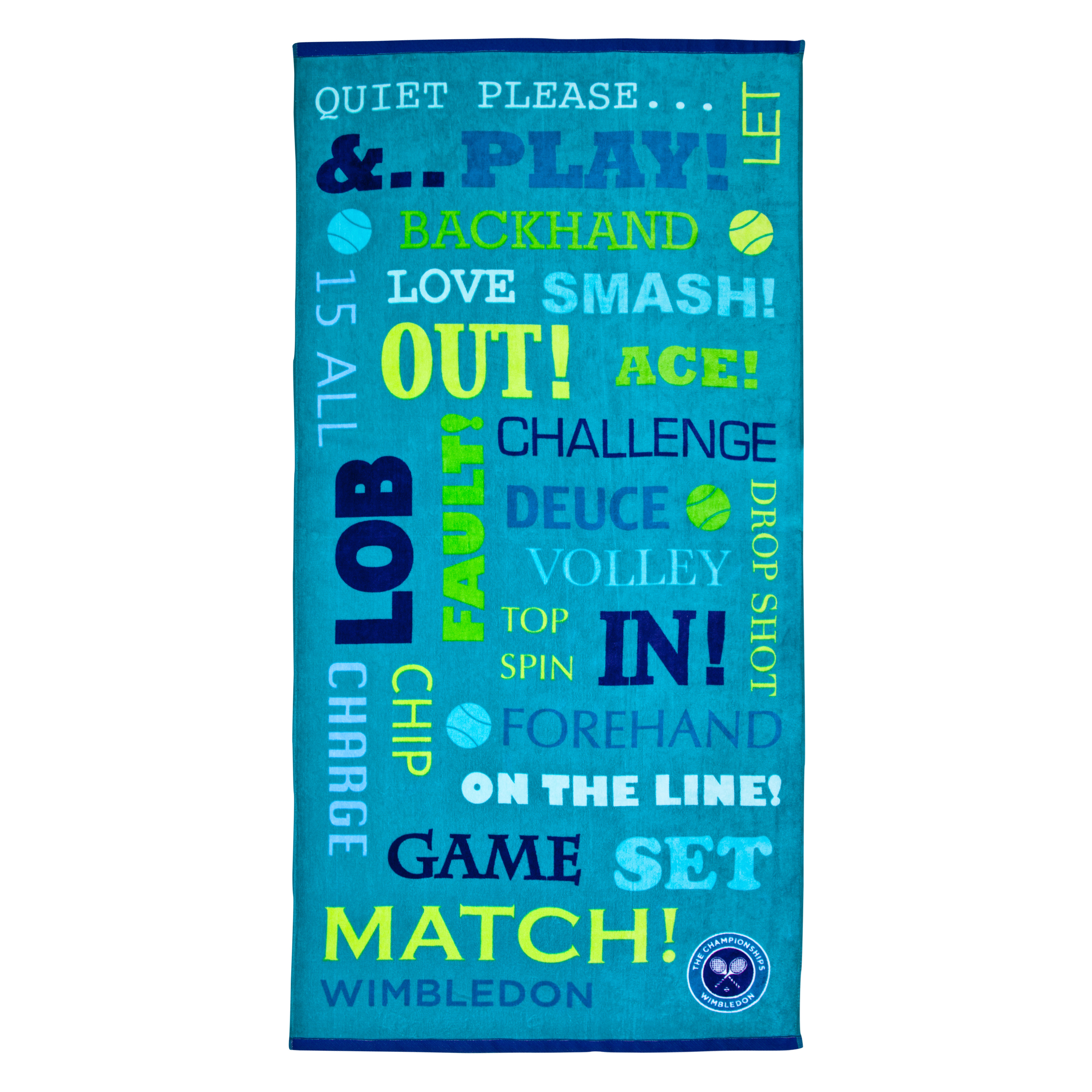Wimbledon Match Beach Towel