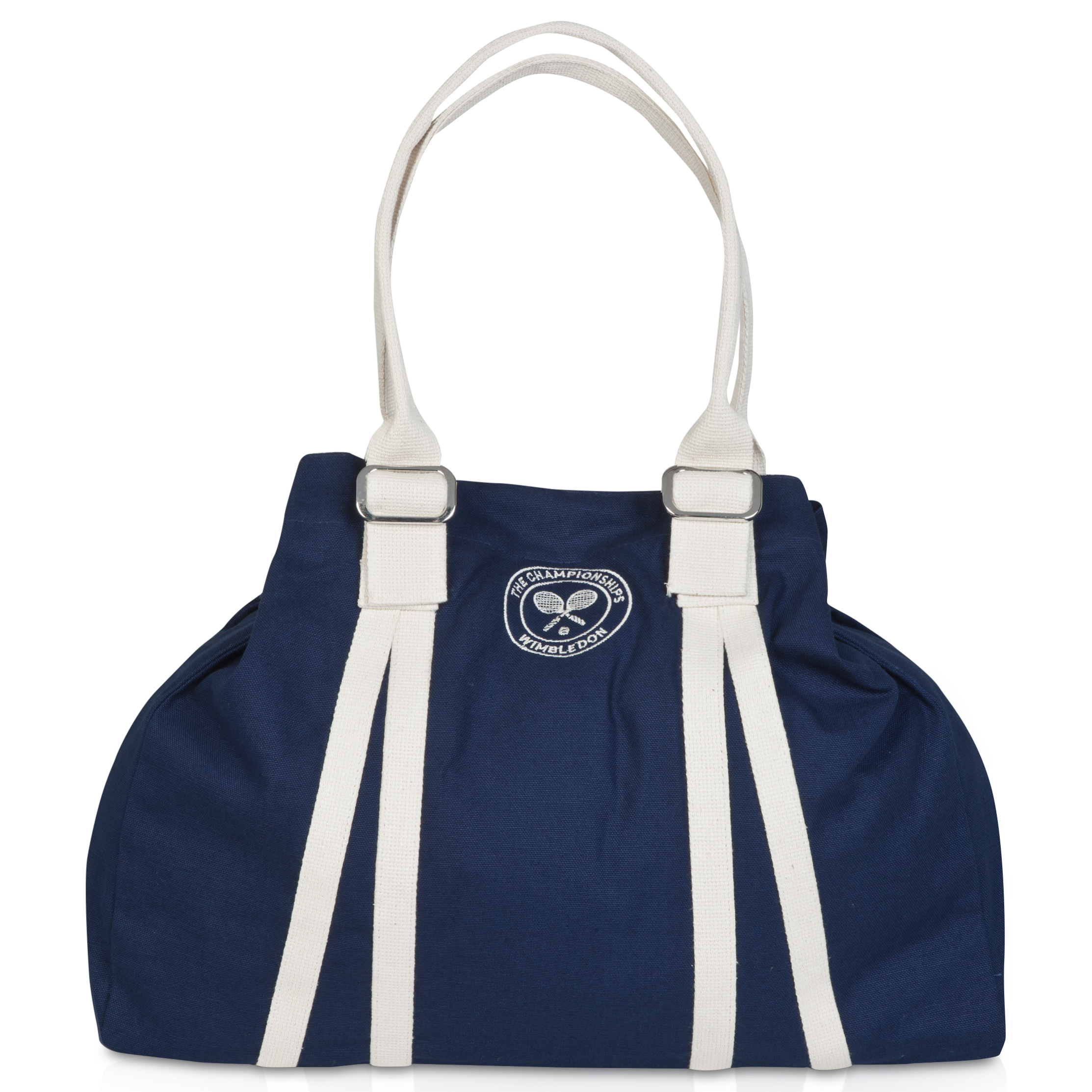 Wimbledon Soft Canvas Tote Navy
