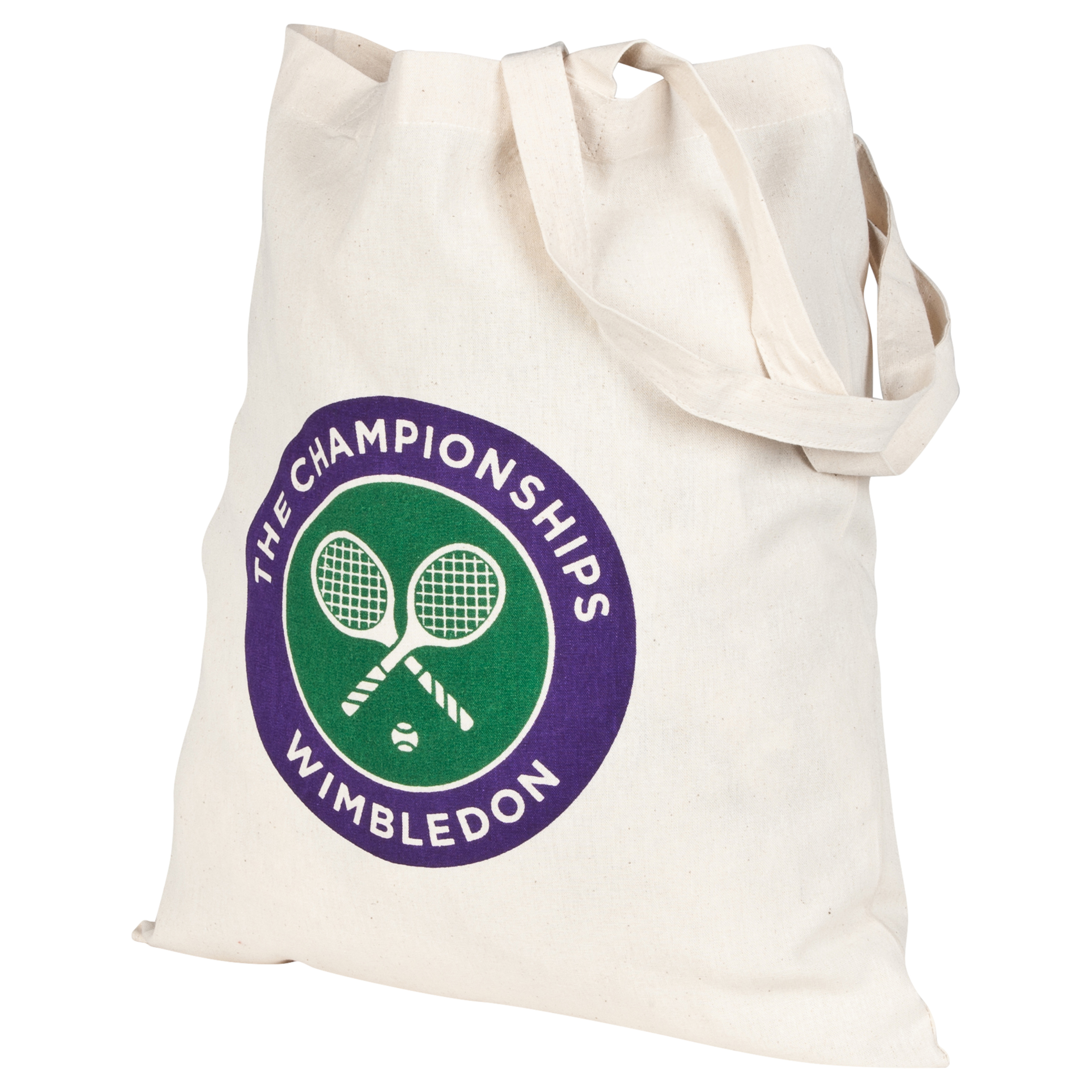 Wimbledon Logo Canvas Bag