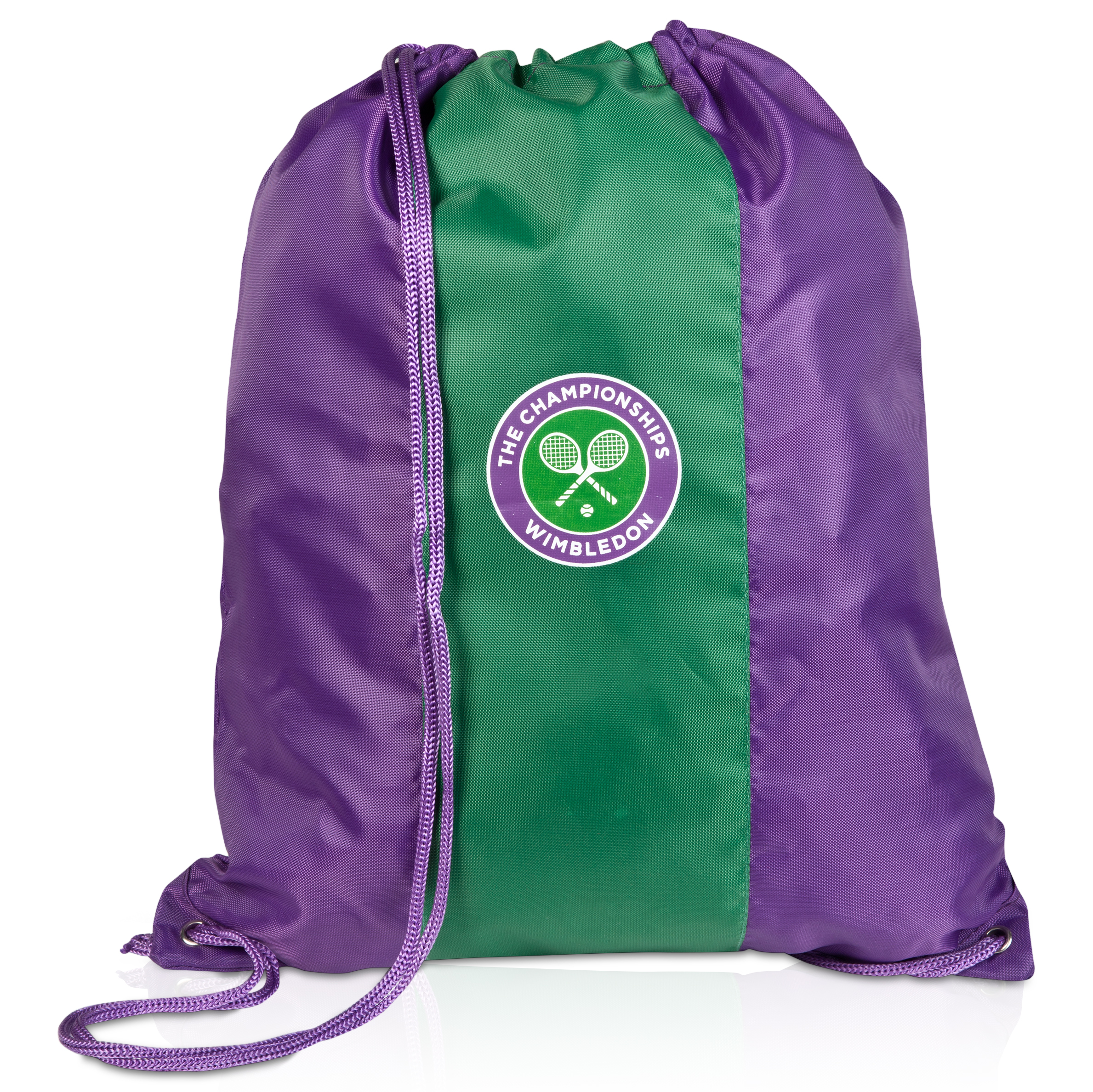 Wimbledon Draw String Bag Purple