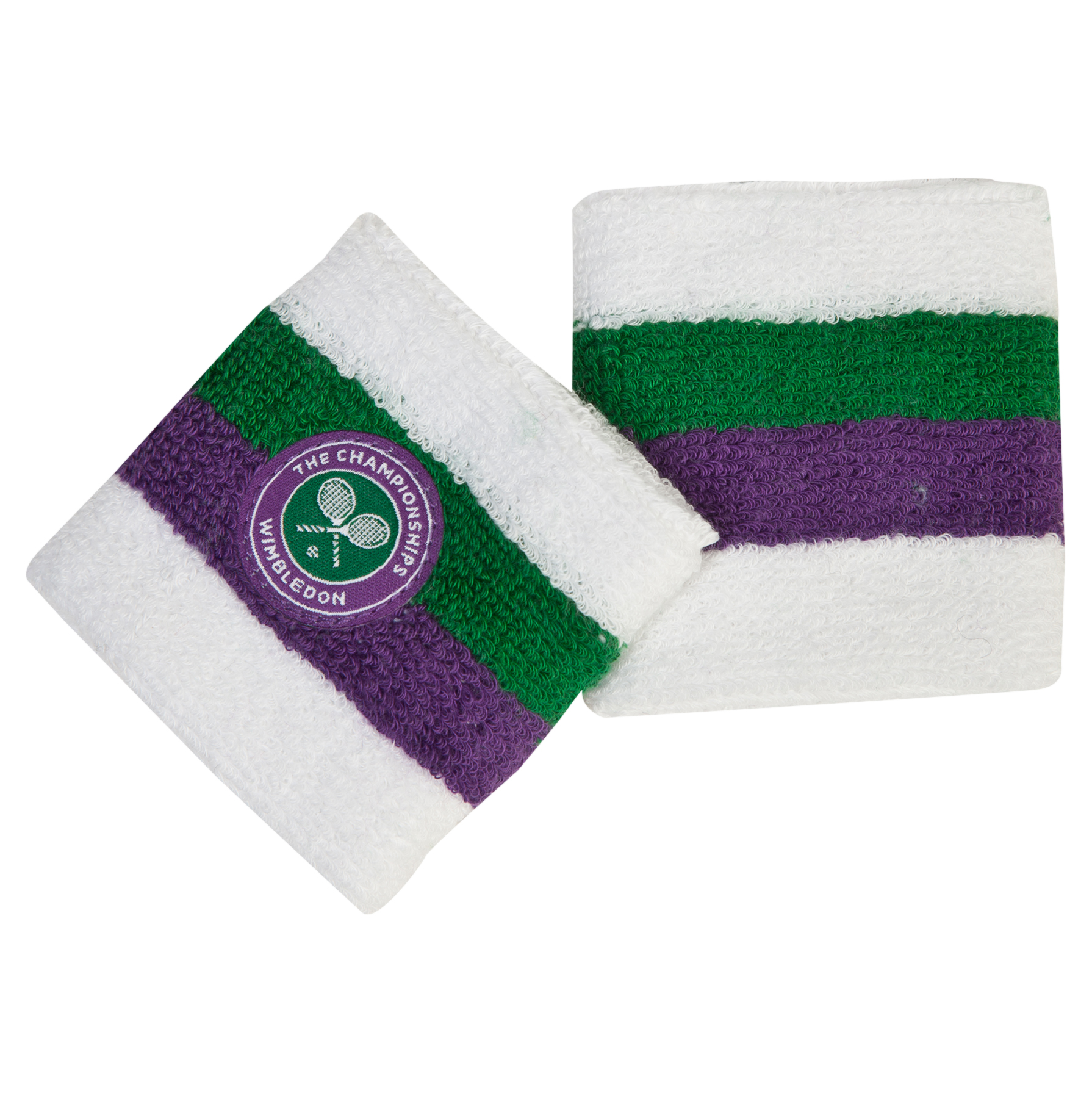 Wimbledon Twinpack Wristbands Purple