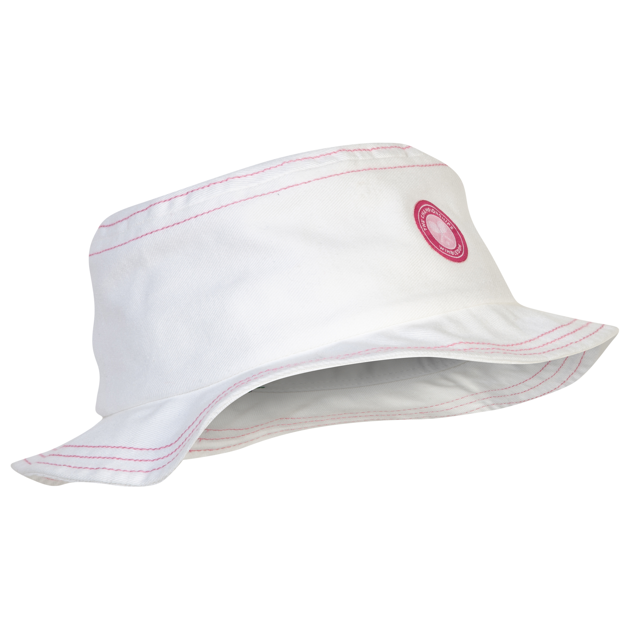 Wimbledon Baby Girls Sun Hat - Infant White