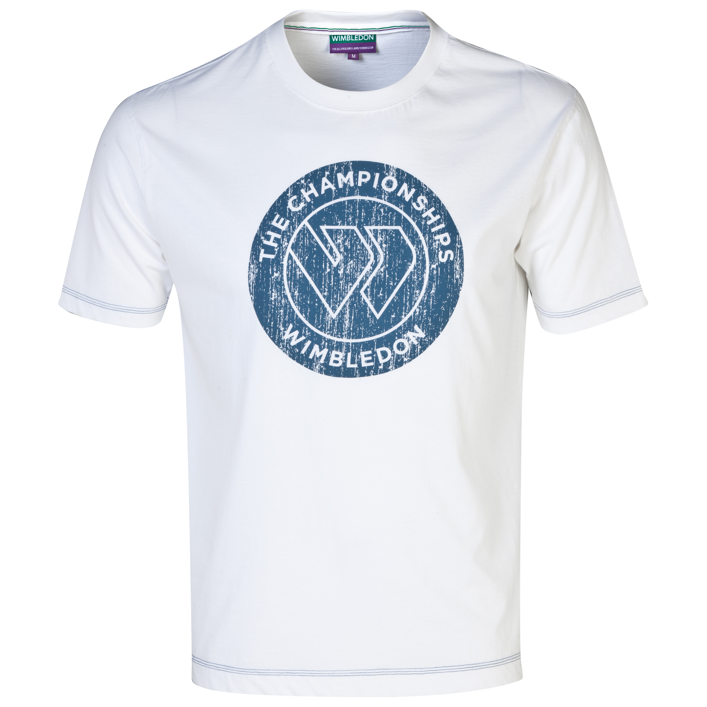 Wimbledon Flying W Print T-Shirt White