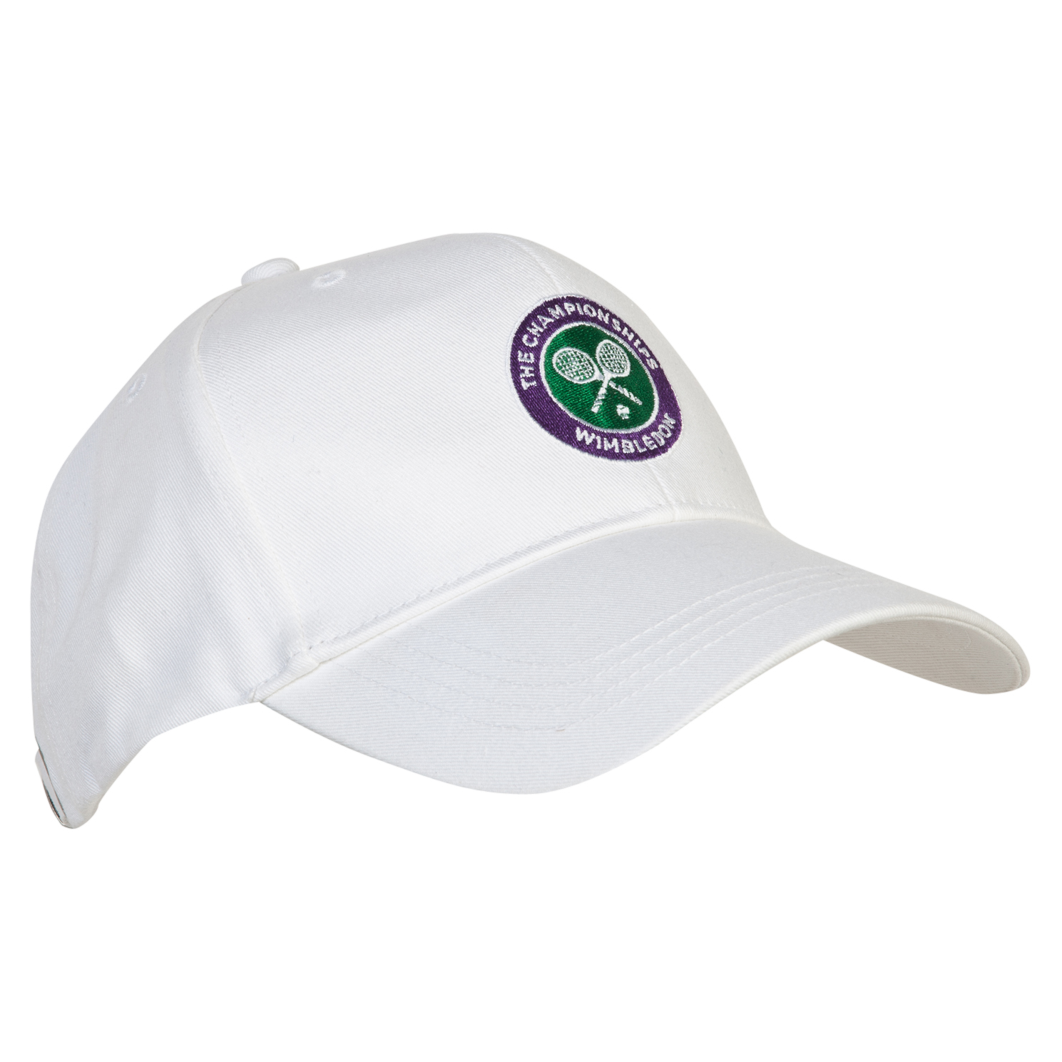 Wimbledon Crossed Rackets Cap - Kids White