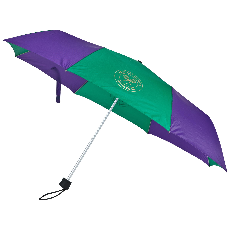 Wimbledon Super-Mini Telescopic Umbrella Purple