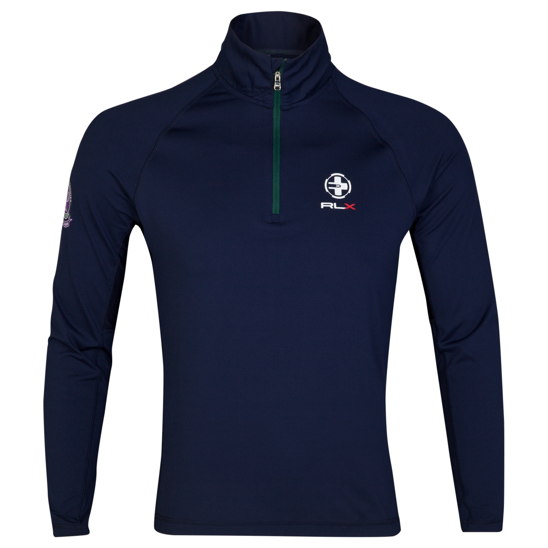 Wimbledon Polo Ralph Lauren RLX Half Zip - French Navy