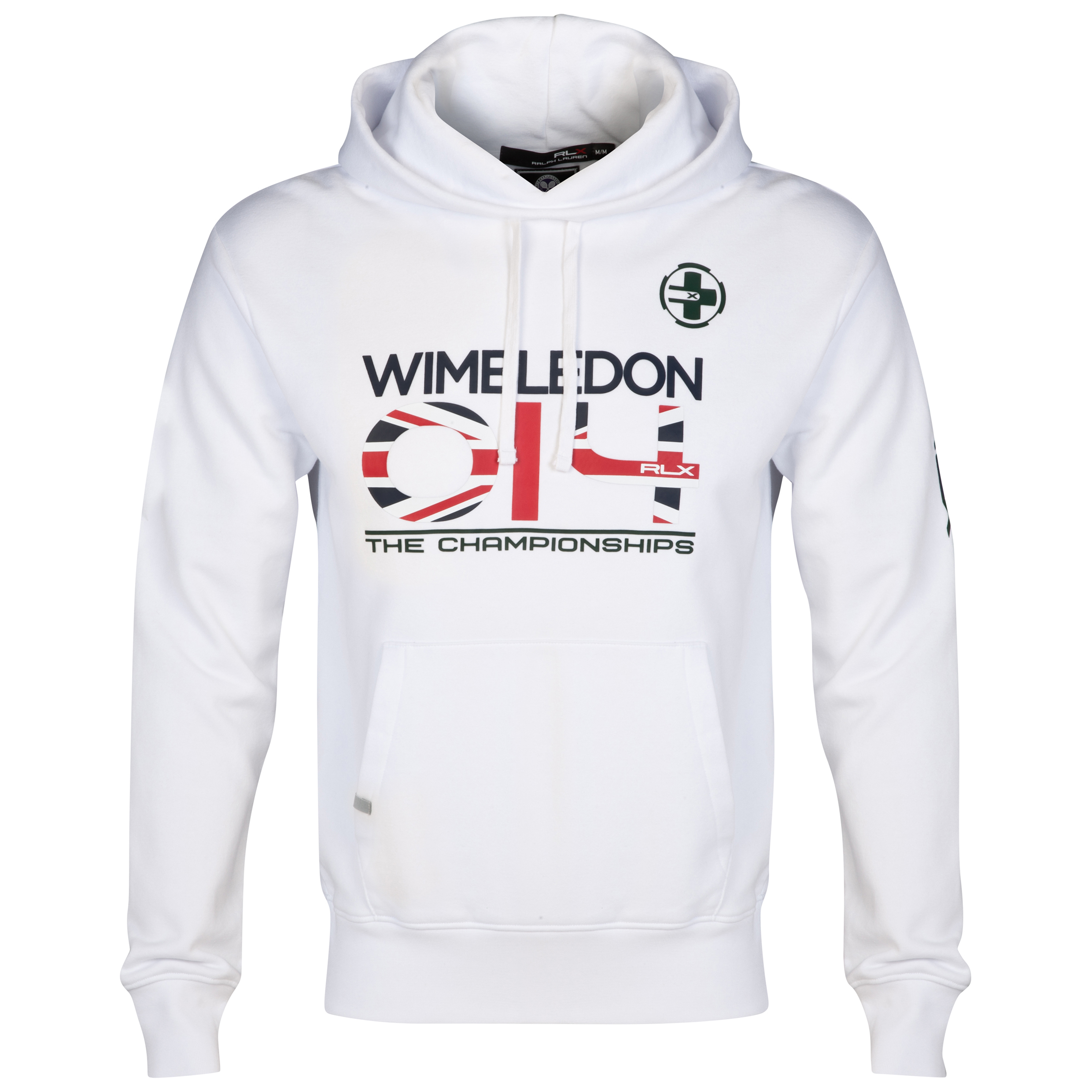 Wimbledon Polo Ralph Lauren Dated Fleece Hoody - Pure White