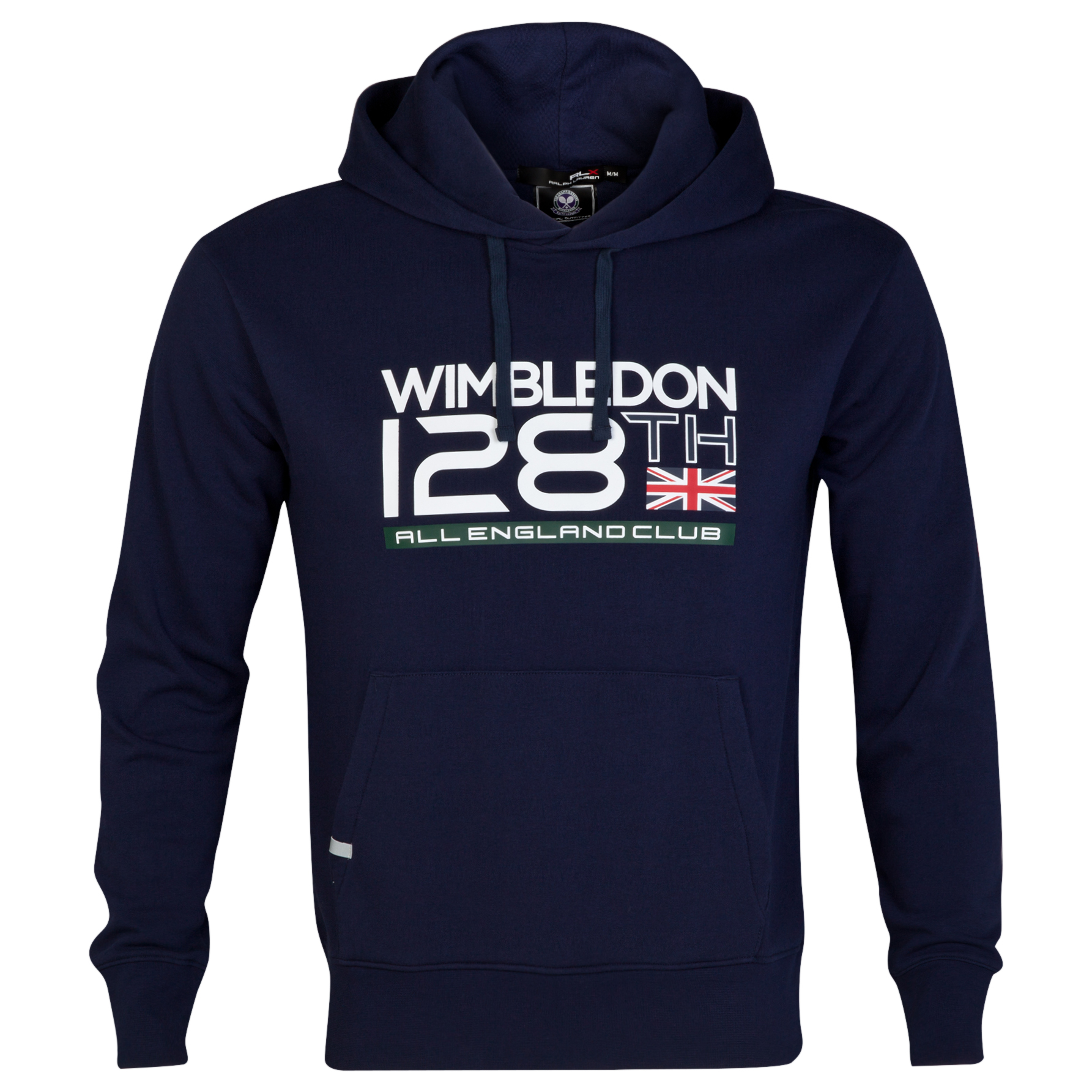 Wimbledon Polo Ralph Lauren Dated Fleece Hoody - French Navy