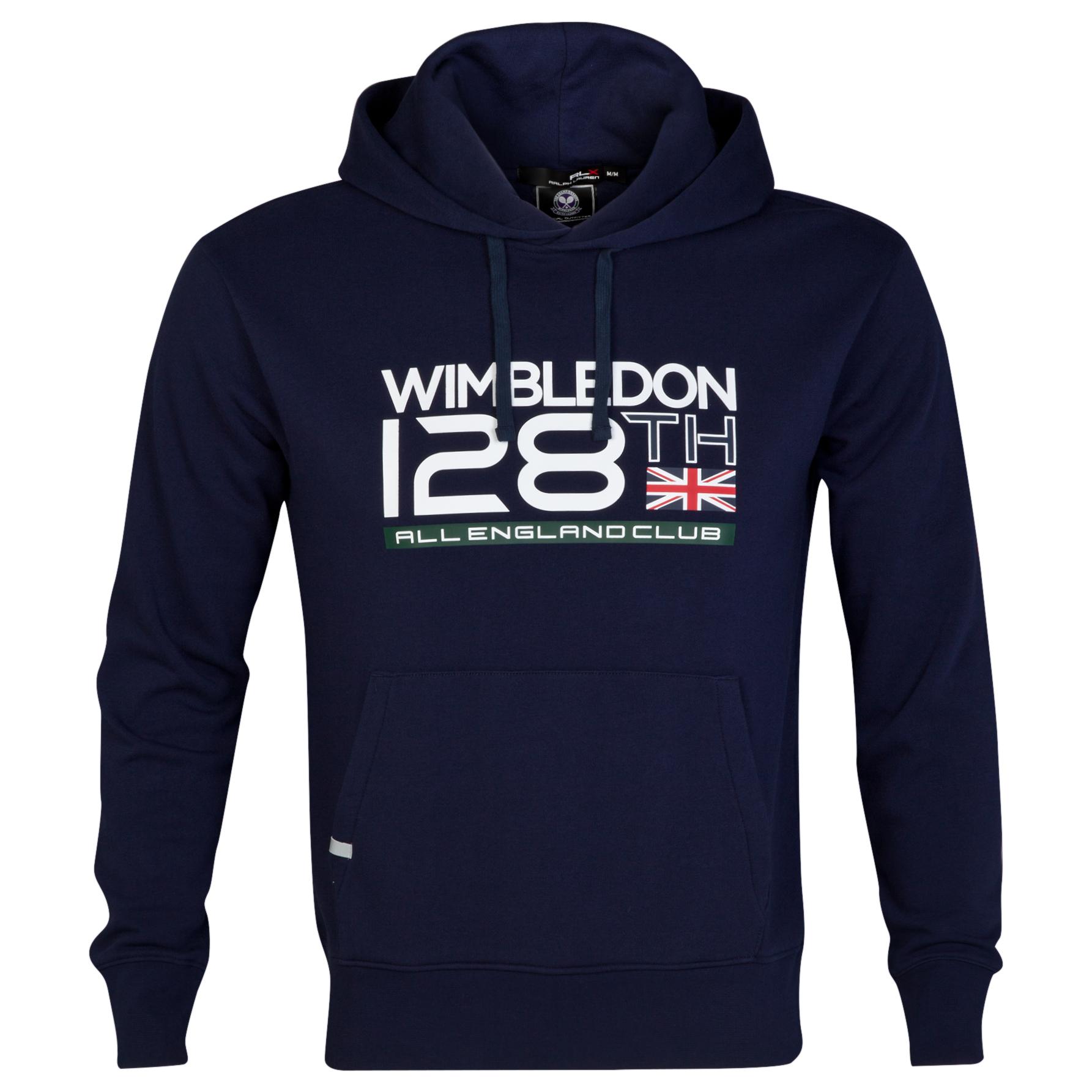 Wimbledon Polo Ralph Lauren Dated Fleece Hoody - French Navy