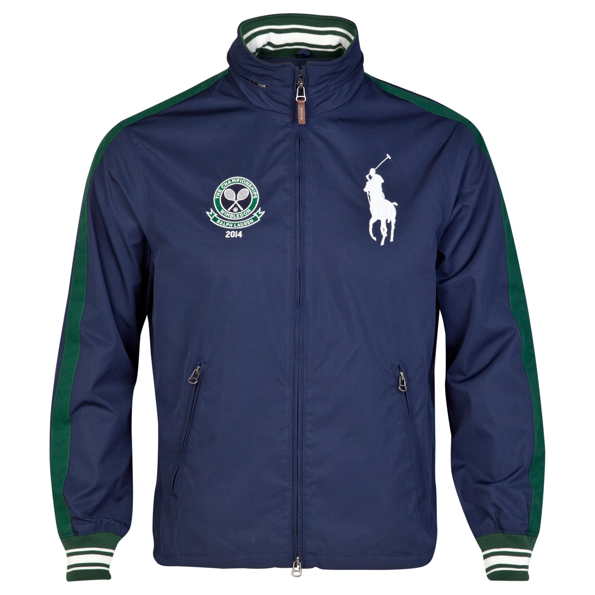 Wimbledon Polo Ralph Lauren Cole Windbreaker - French Navy