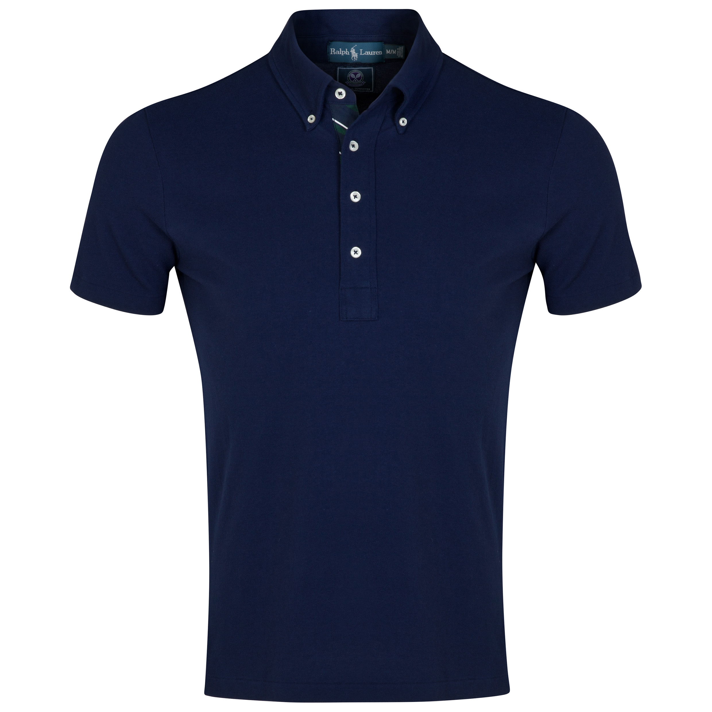 Wimbledon Polo Ralph Lauren Mesh Polo - French Navy