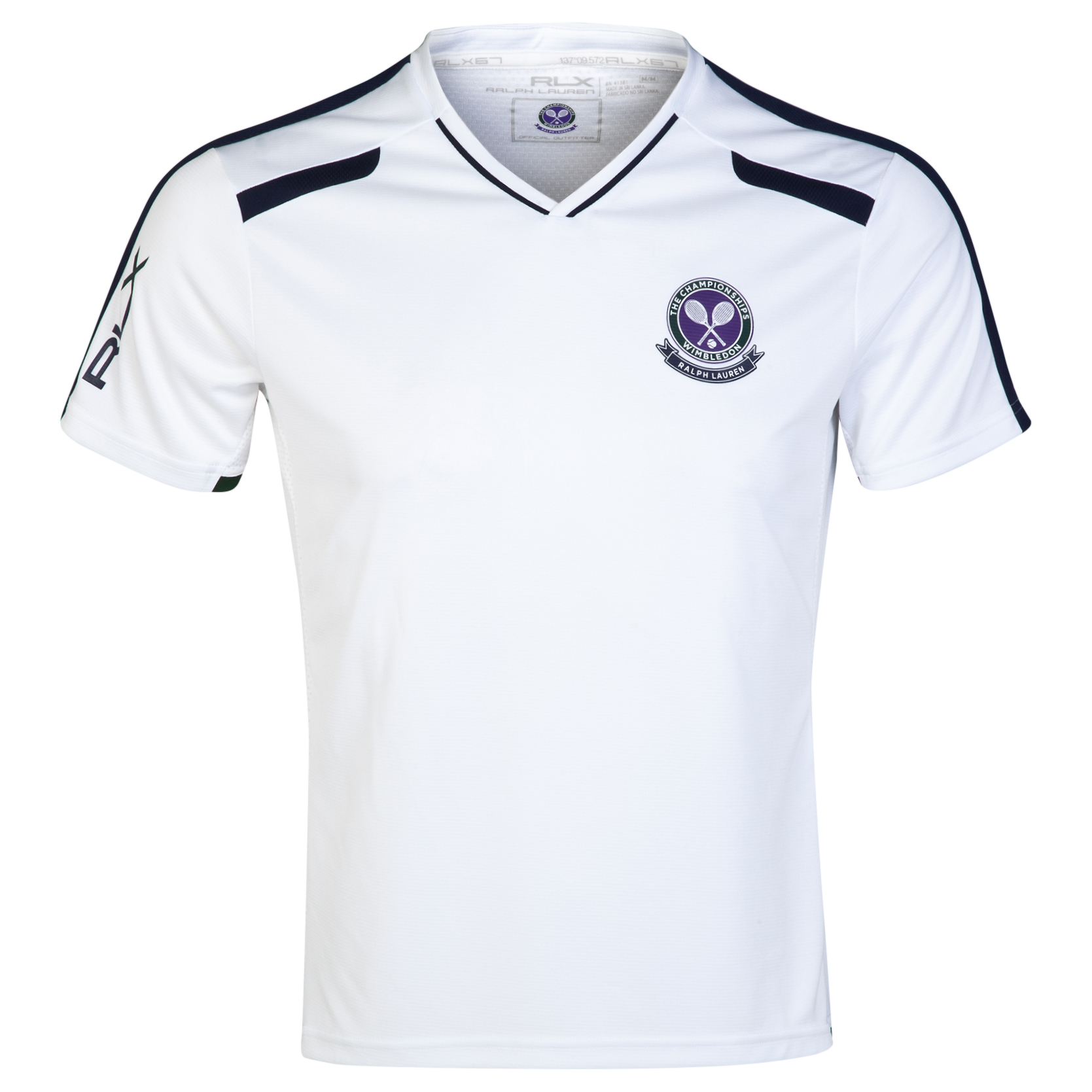 Wimbledon Polo Ralph Lauren RLX T-Shirt - Pure White