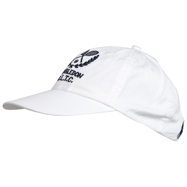 Wimbledon Polo Ralph Lauren Classic Sports Cap White