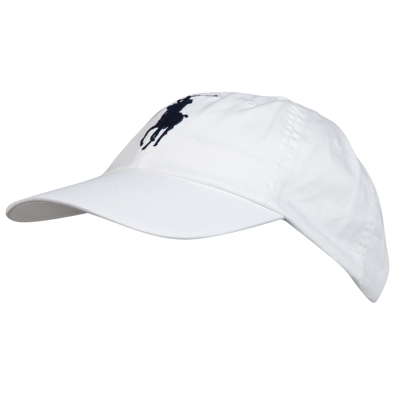 Wimbledon Polo Ralph Lauren Classic Sports Cap 2 White