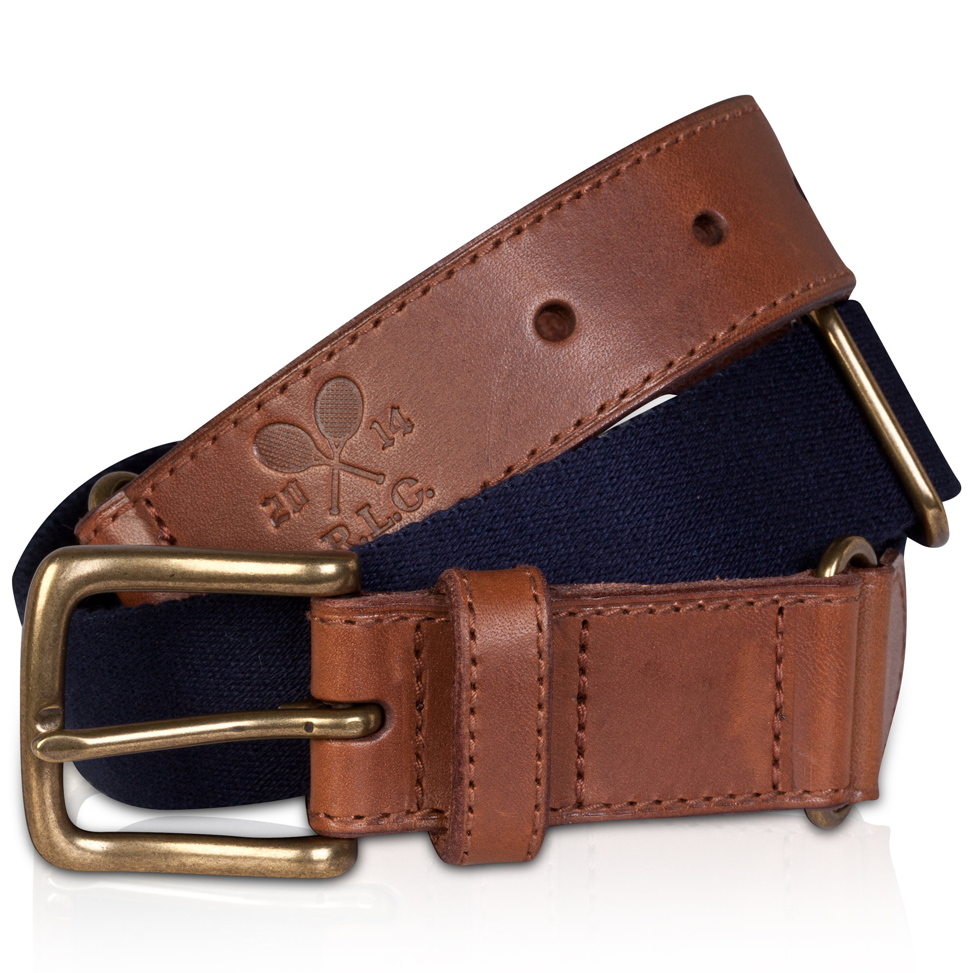 Wimbledon Polo Ralph Lauren Icon Belt - Aviator Navy