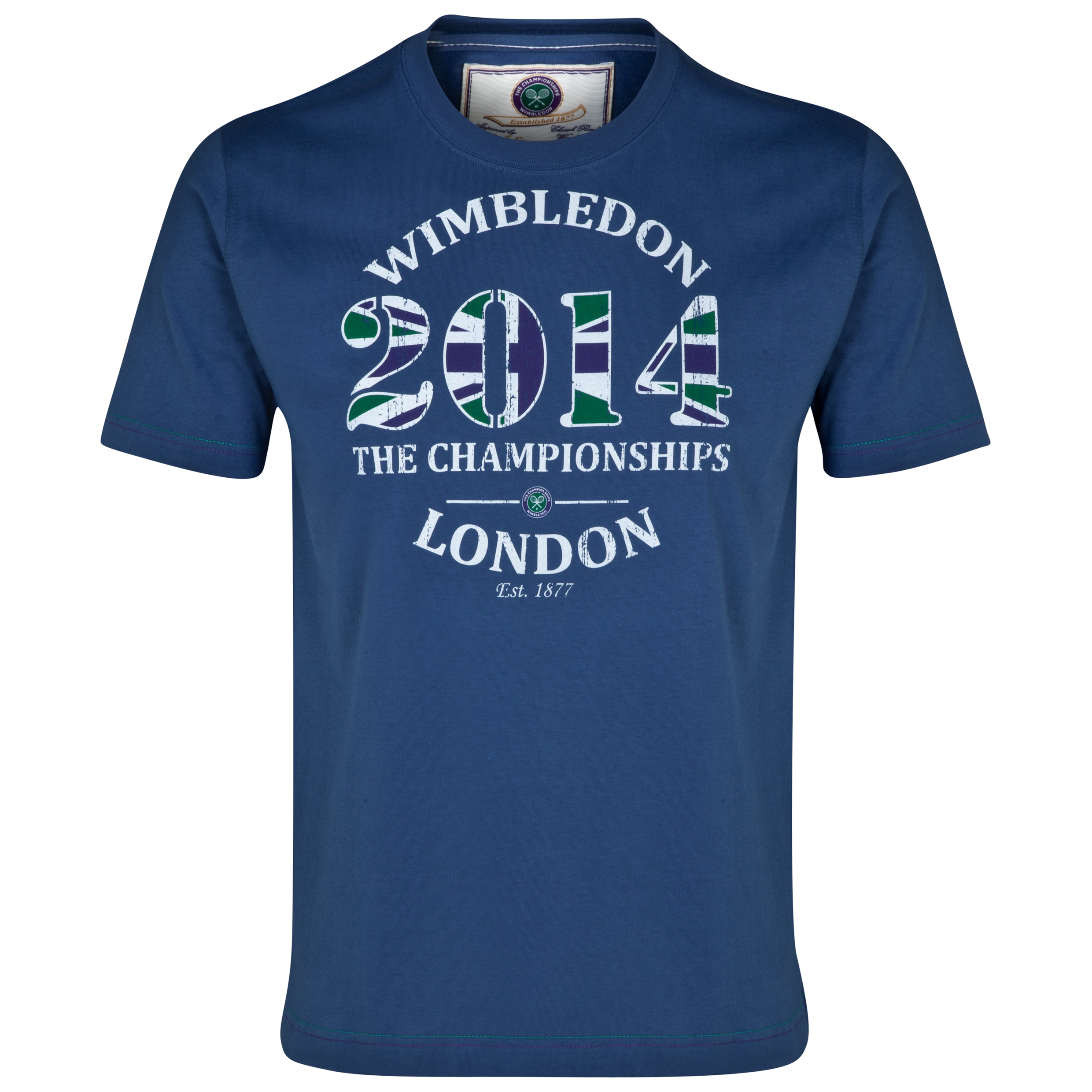 Wimbledon 2014 Dated T-Shirt Blue