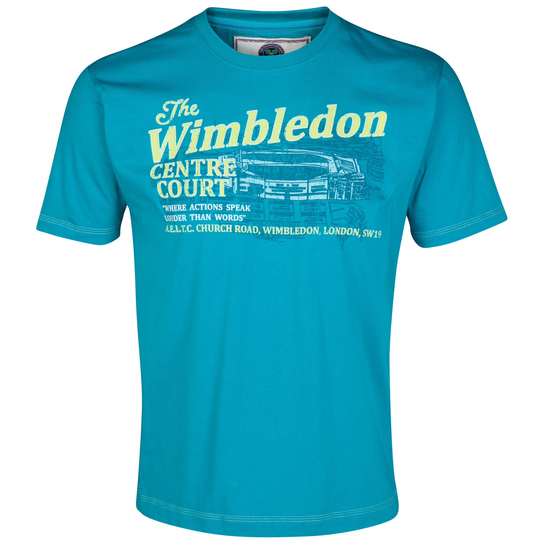 Wimbledon Centre Court T-Shirt Green