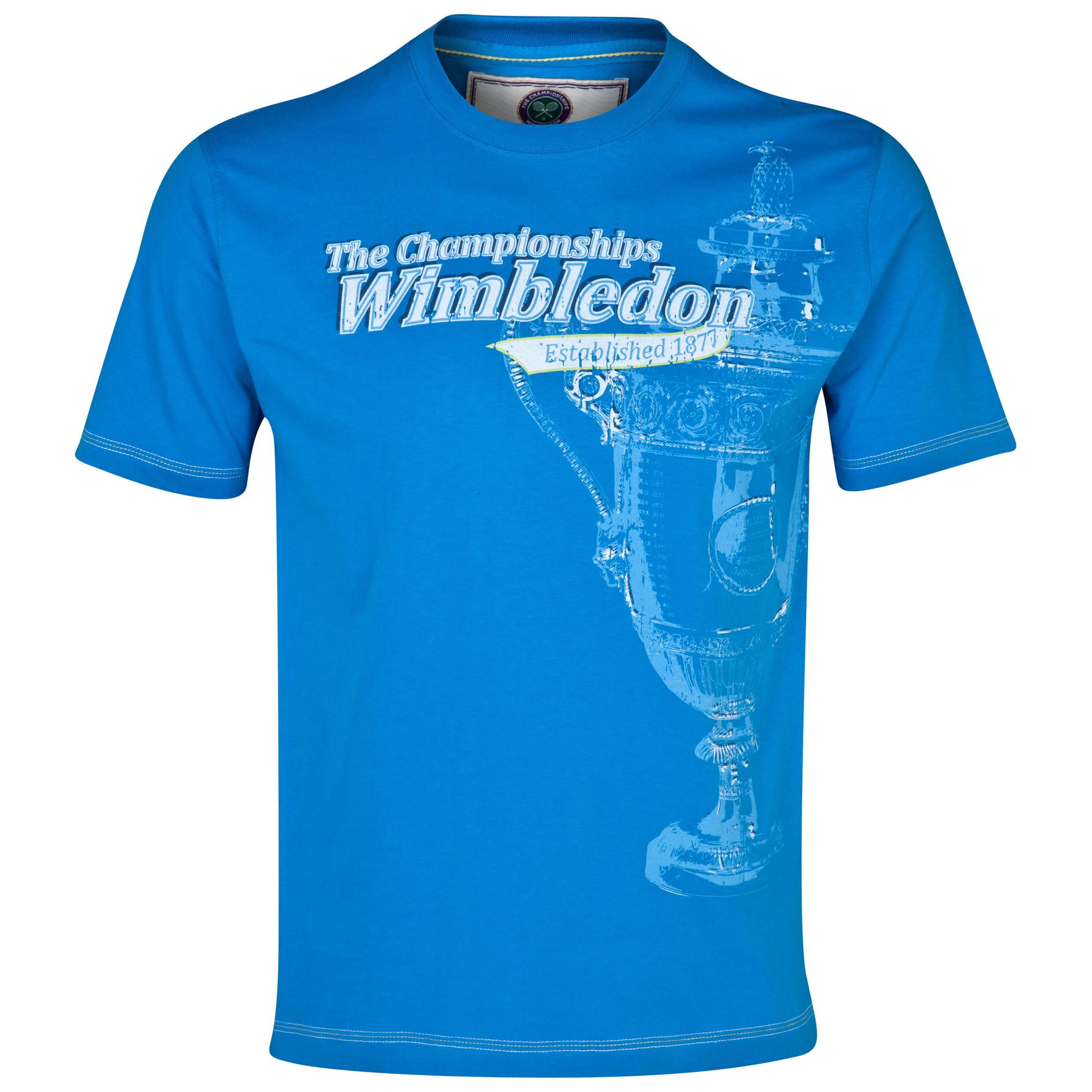 Wimbledon Large Trophy T-Shirt Blue
