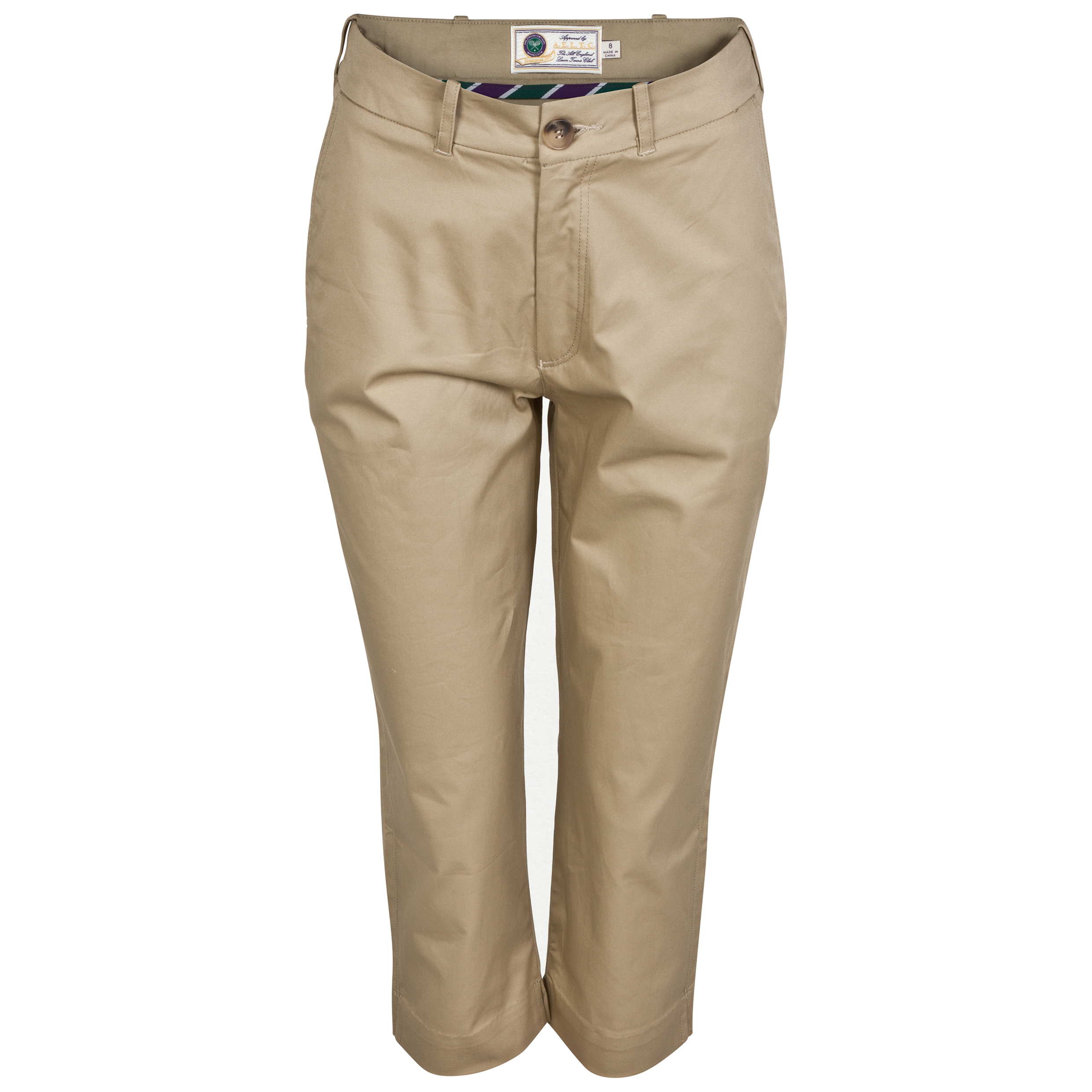 Wimbledon Tailored Capri Pants - Womens