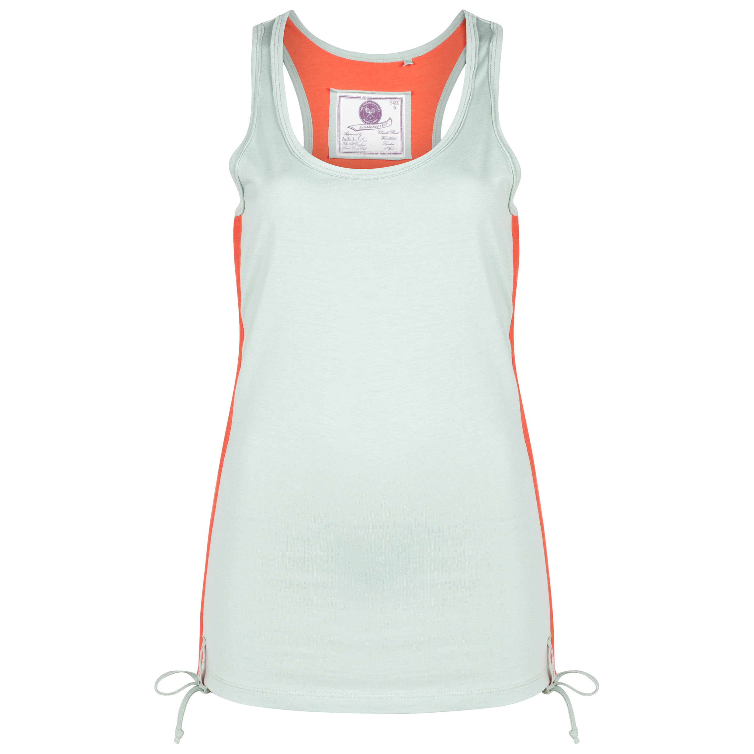 Wimbledon Ruched Vest Top - Womens