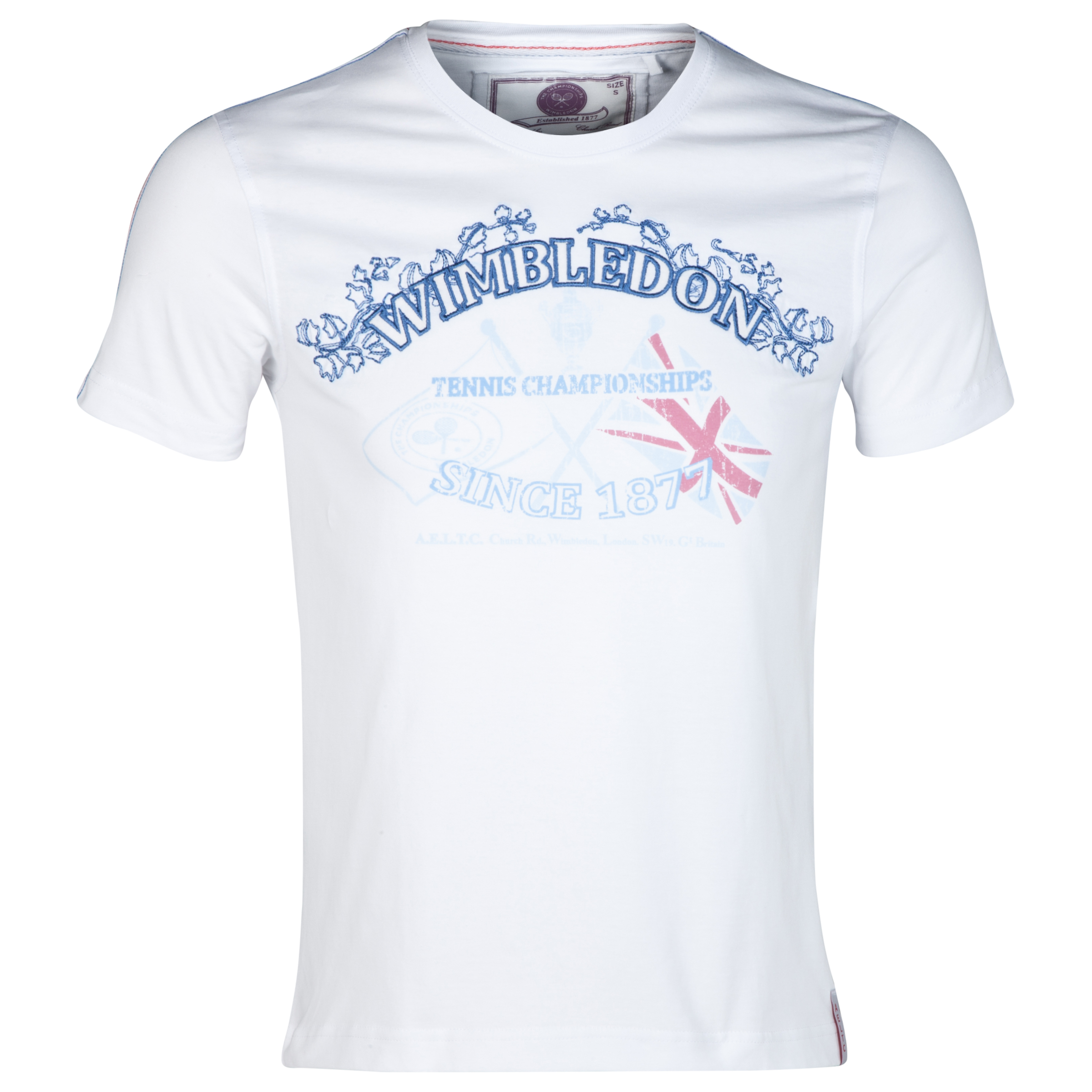 Wimbledon Applique T-Shirt White